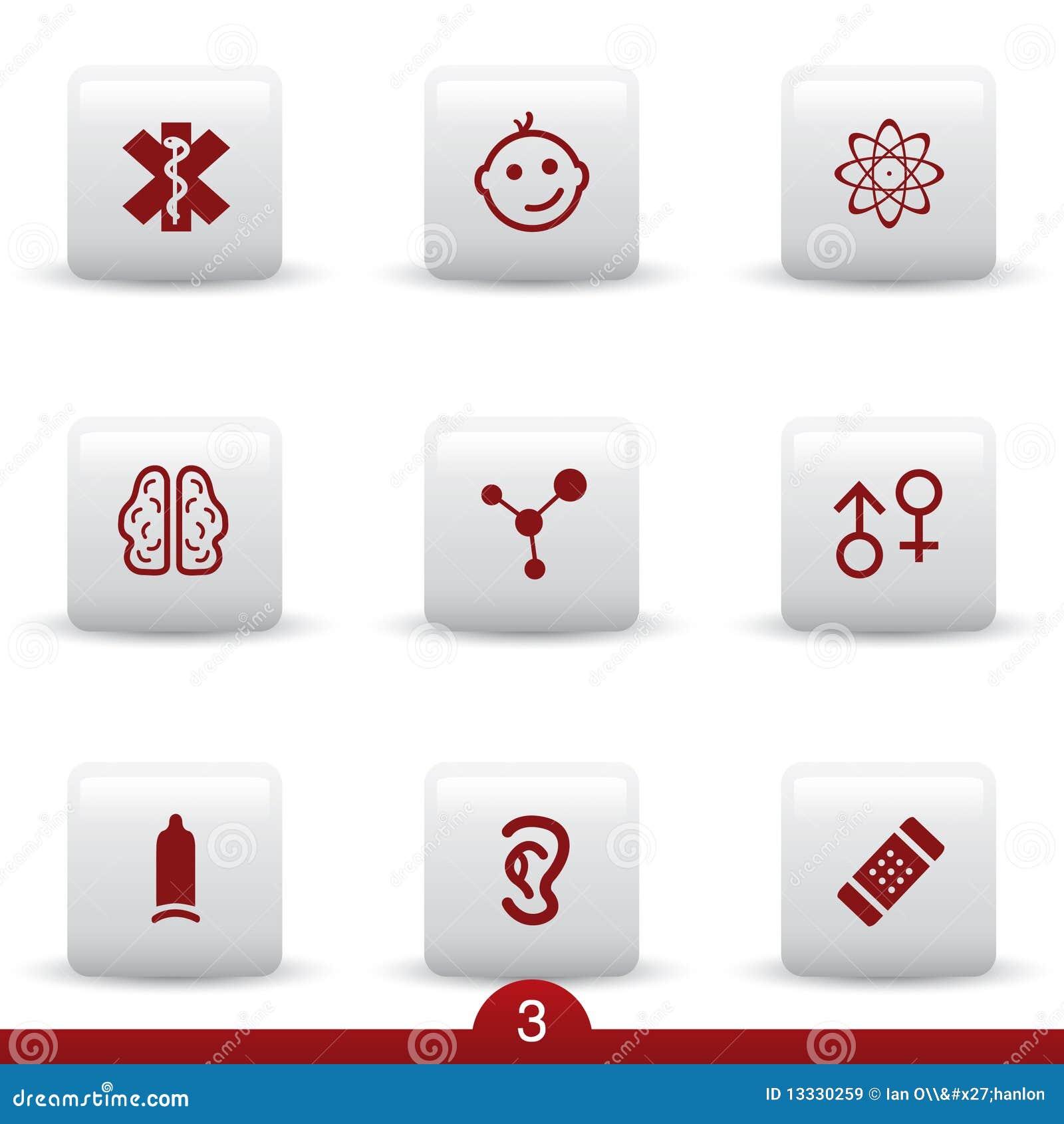 Medyczne ikon serie