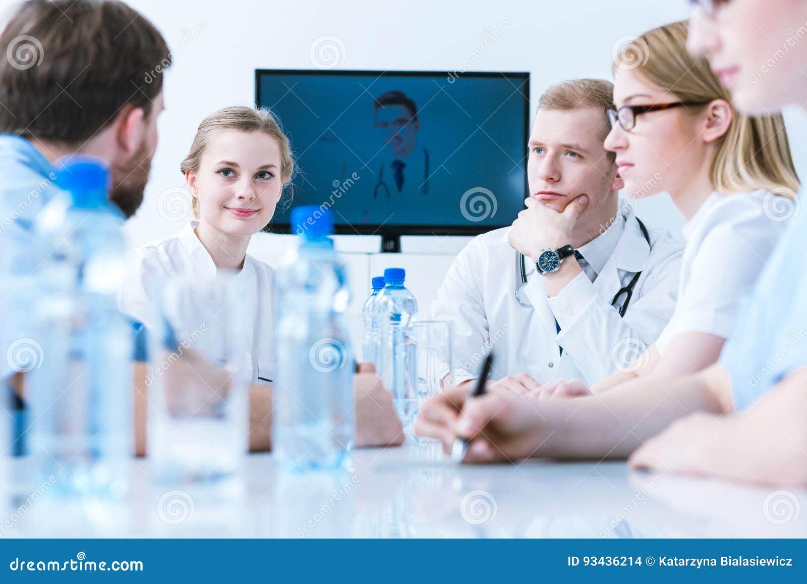 Medyczny wideokonferencja