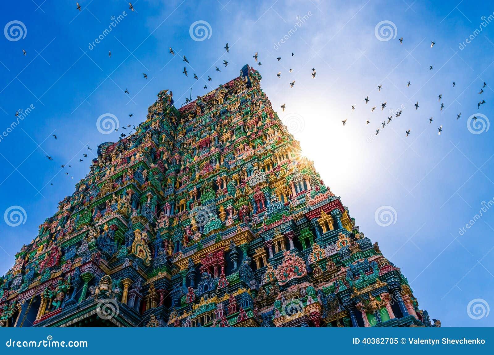Meenakshi hinduska świątynia w Madurai