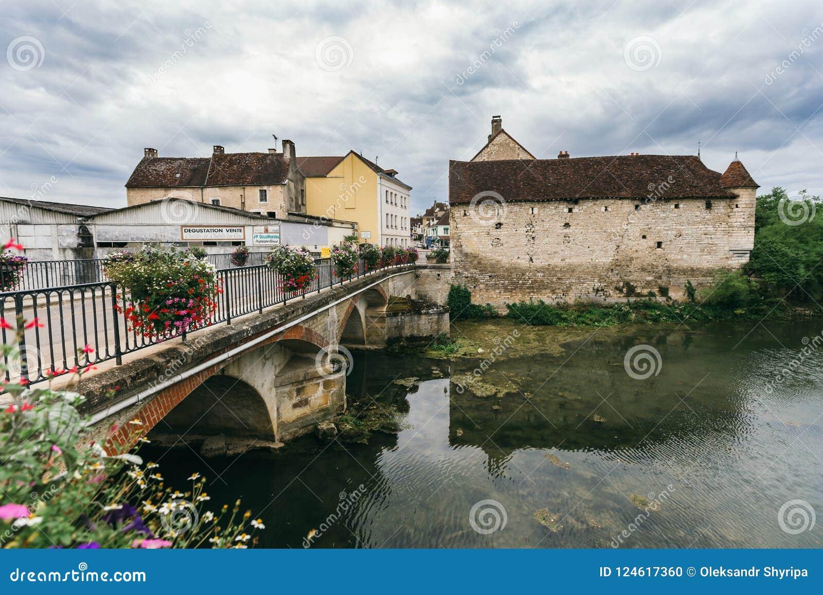 Meer in Chablis, Bourgondië