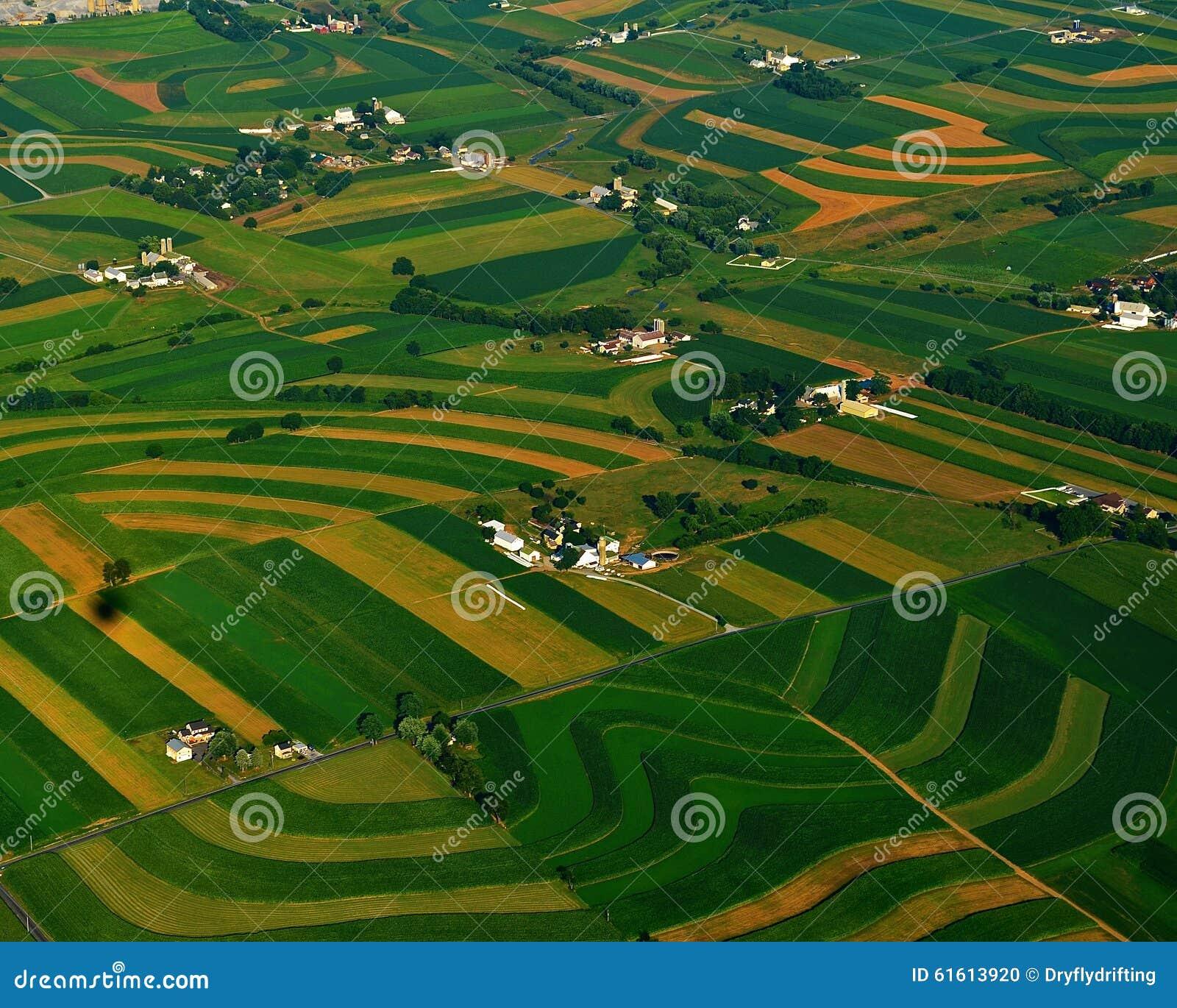 Meer landbouwbedrijven en gebieden van lancaster