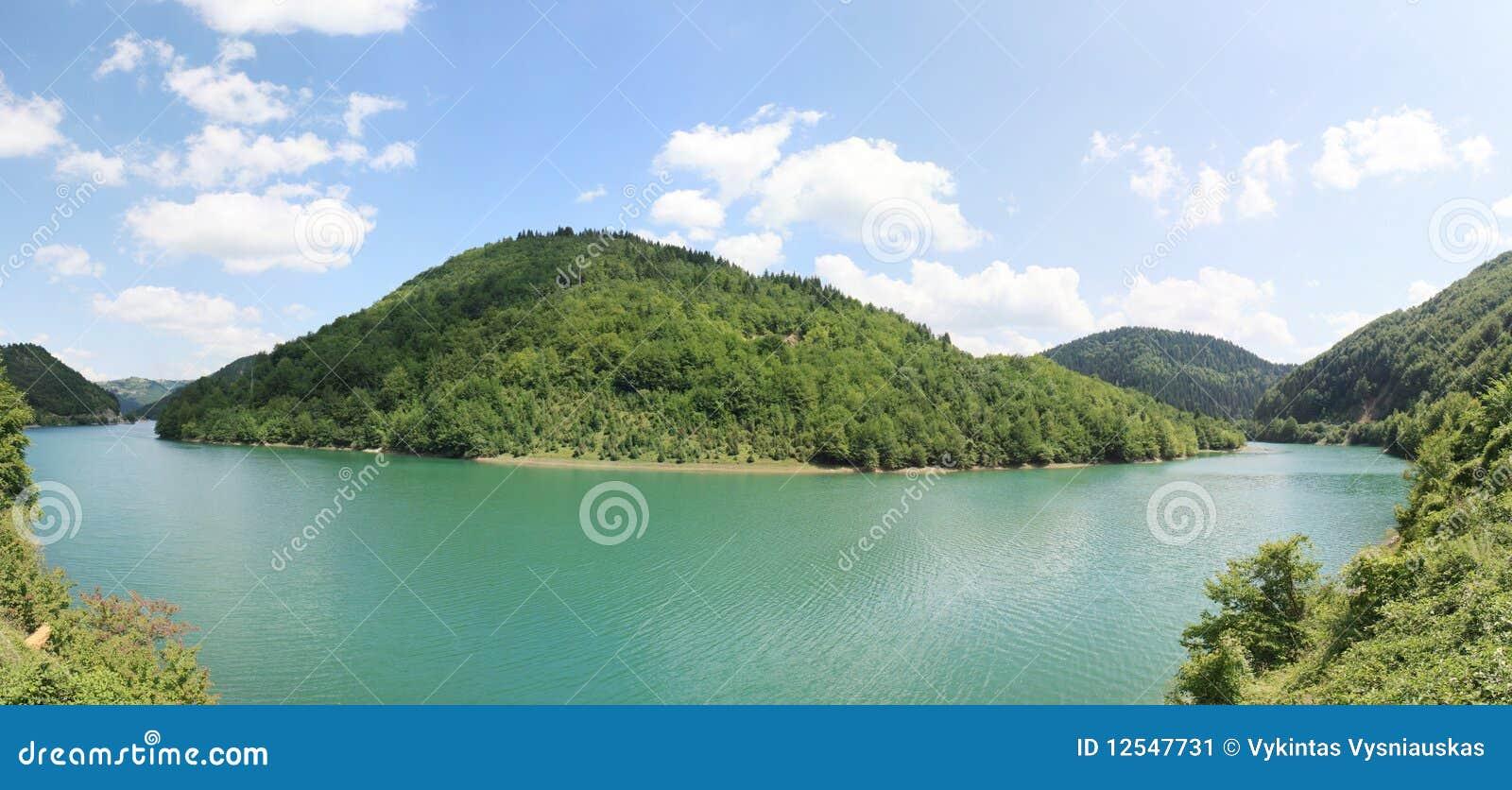 Meer Skadar, het Landschap van Albanië