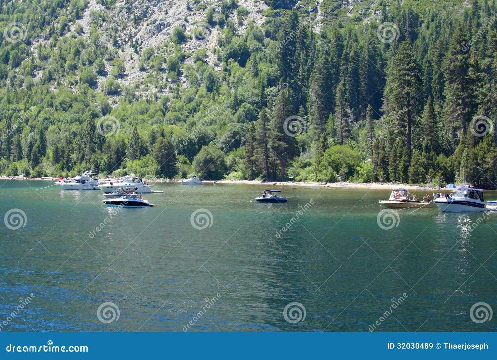 Meer Tahoe Emerald Bay