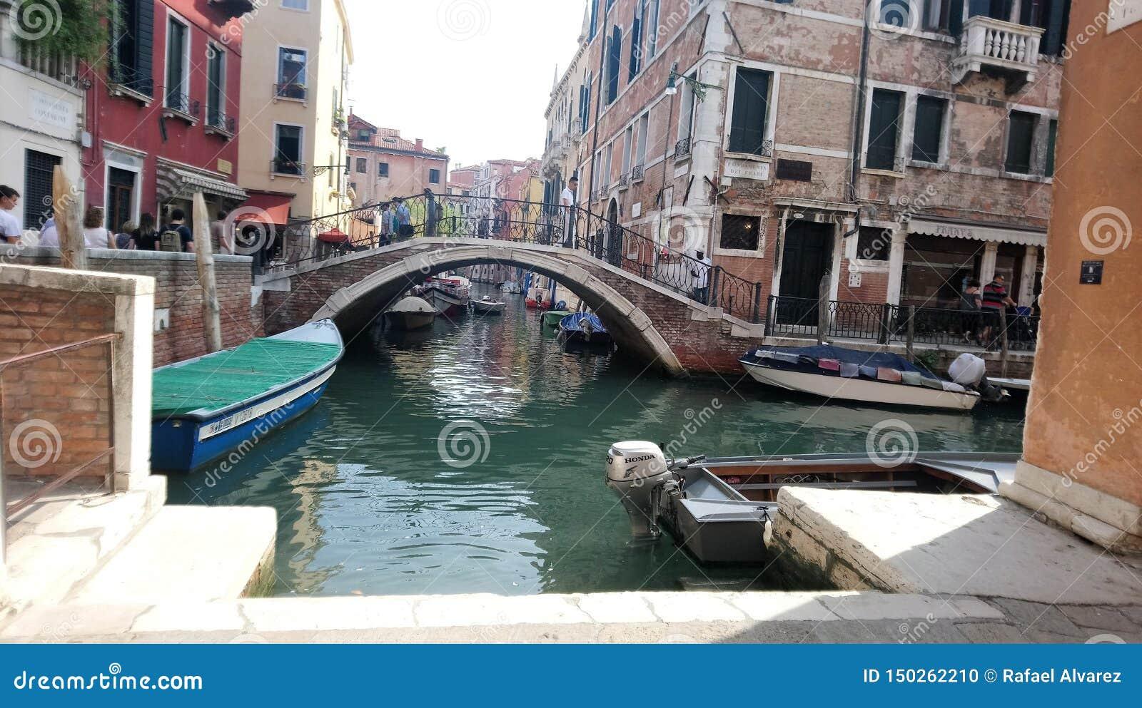 Meer van Venetië op september