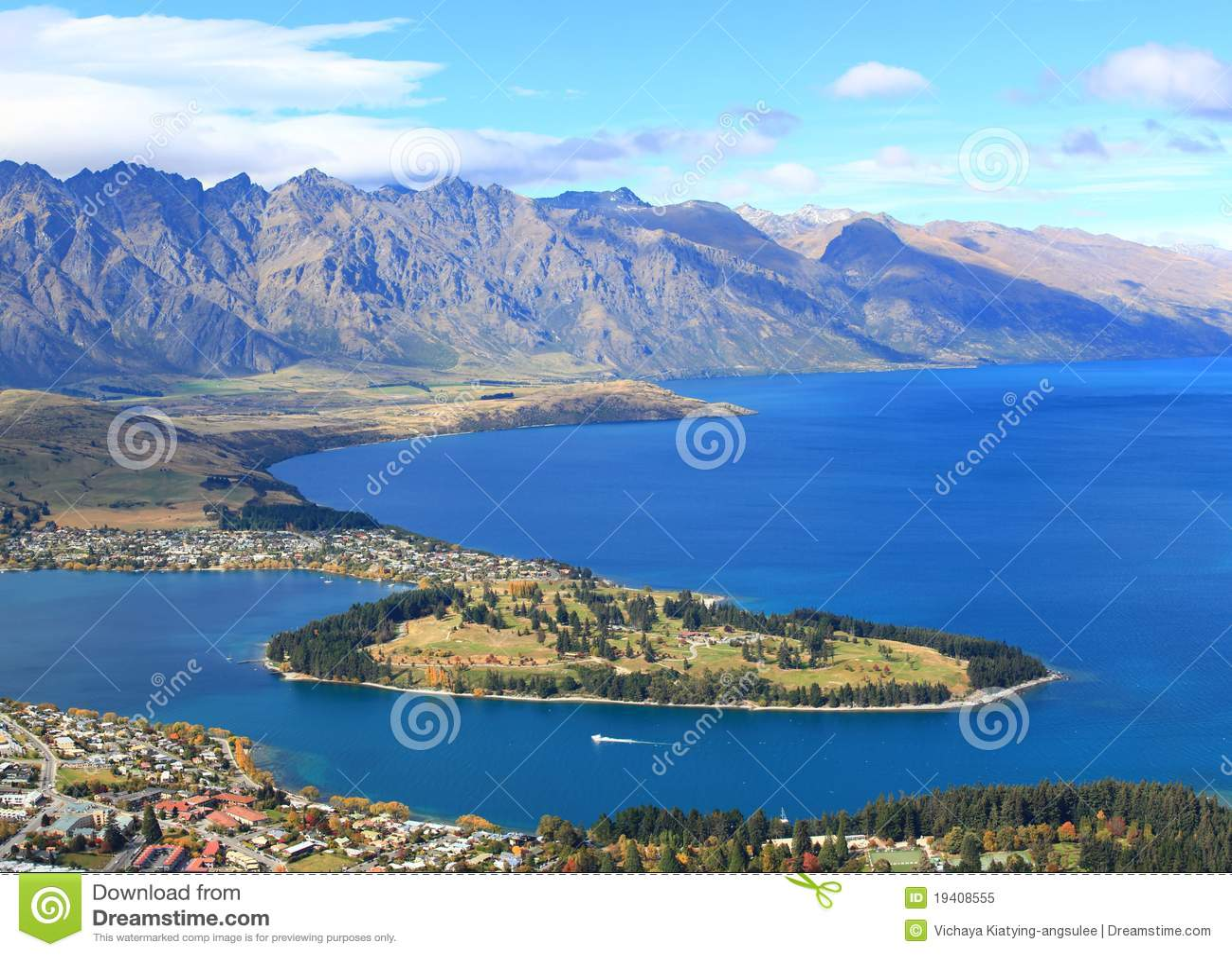Meer Wakatipu en Queenstown