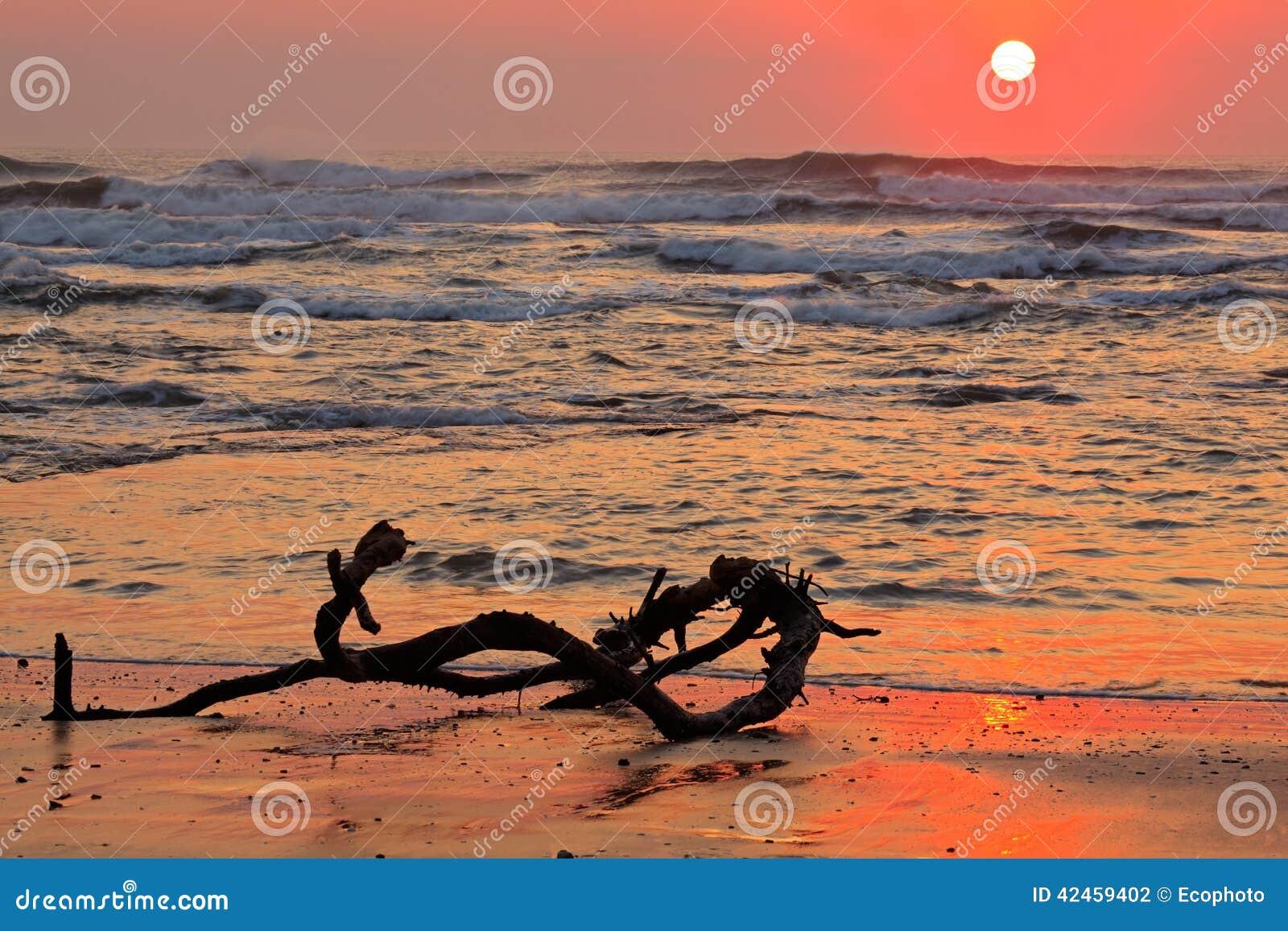 Meerblick bei Sonnenaufgang