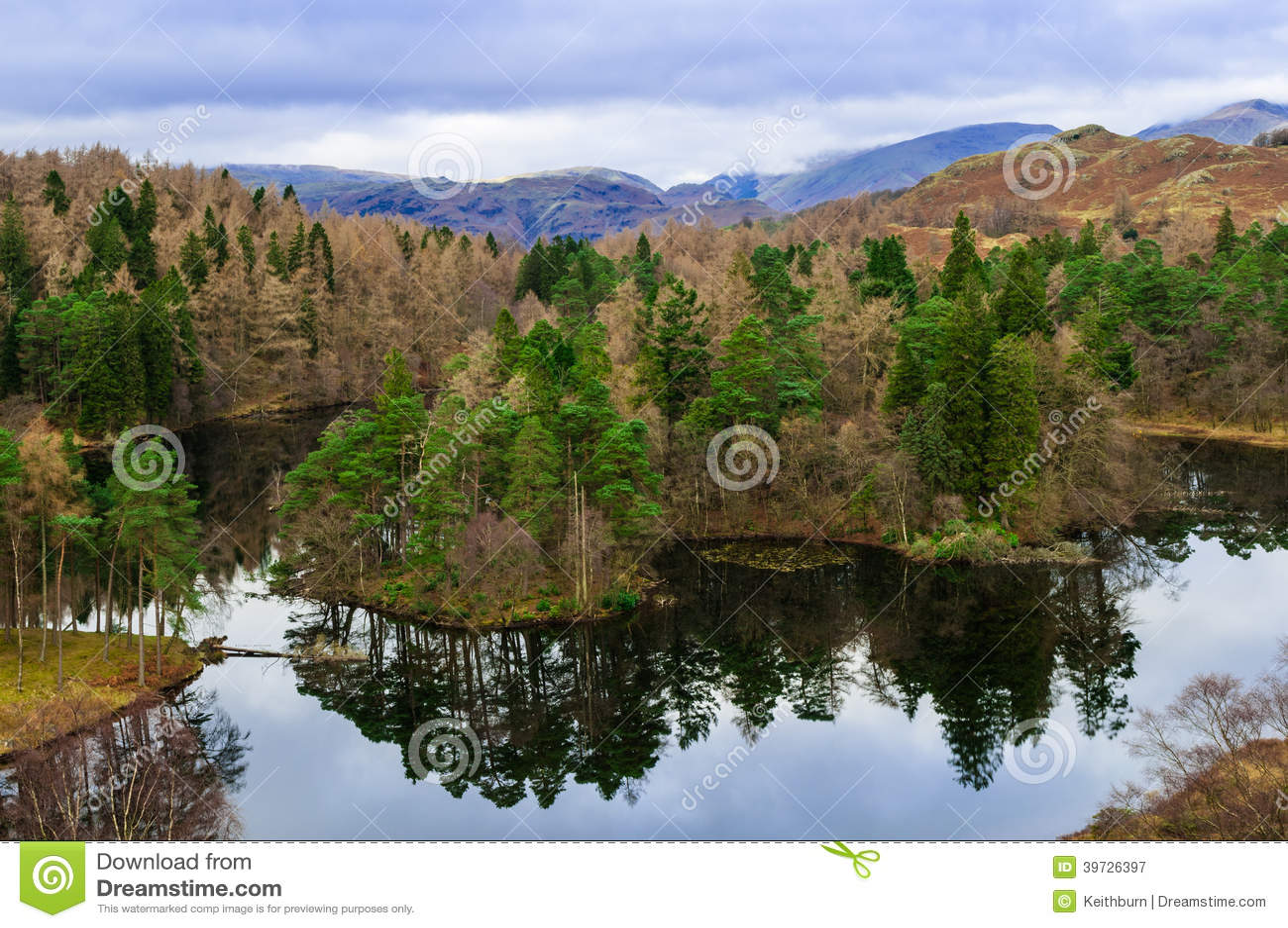 Meerdistrict Cumbria de Tarn Hows