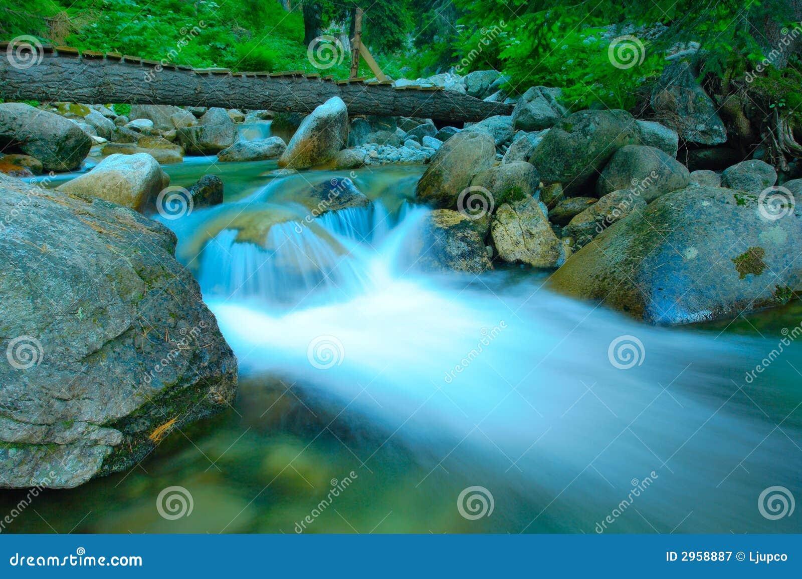 Meeslepende rivier