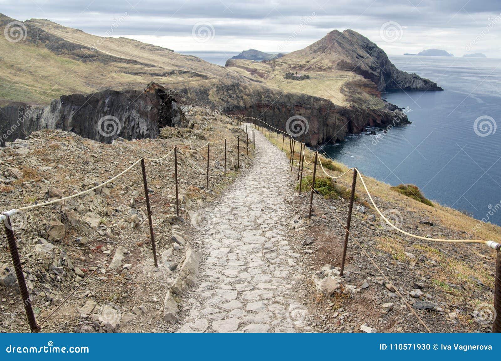 Meest oostelijke deel van het eiland Madera, Ponta DE Sao Lourenco, Canical-stad, schiereiland, droog klimaat