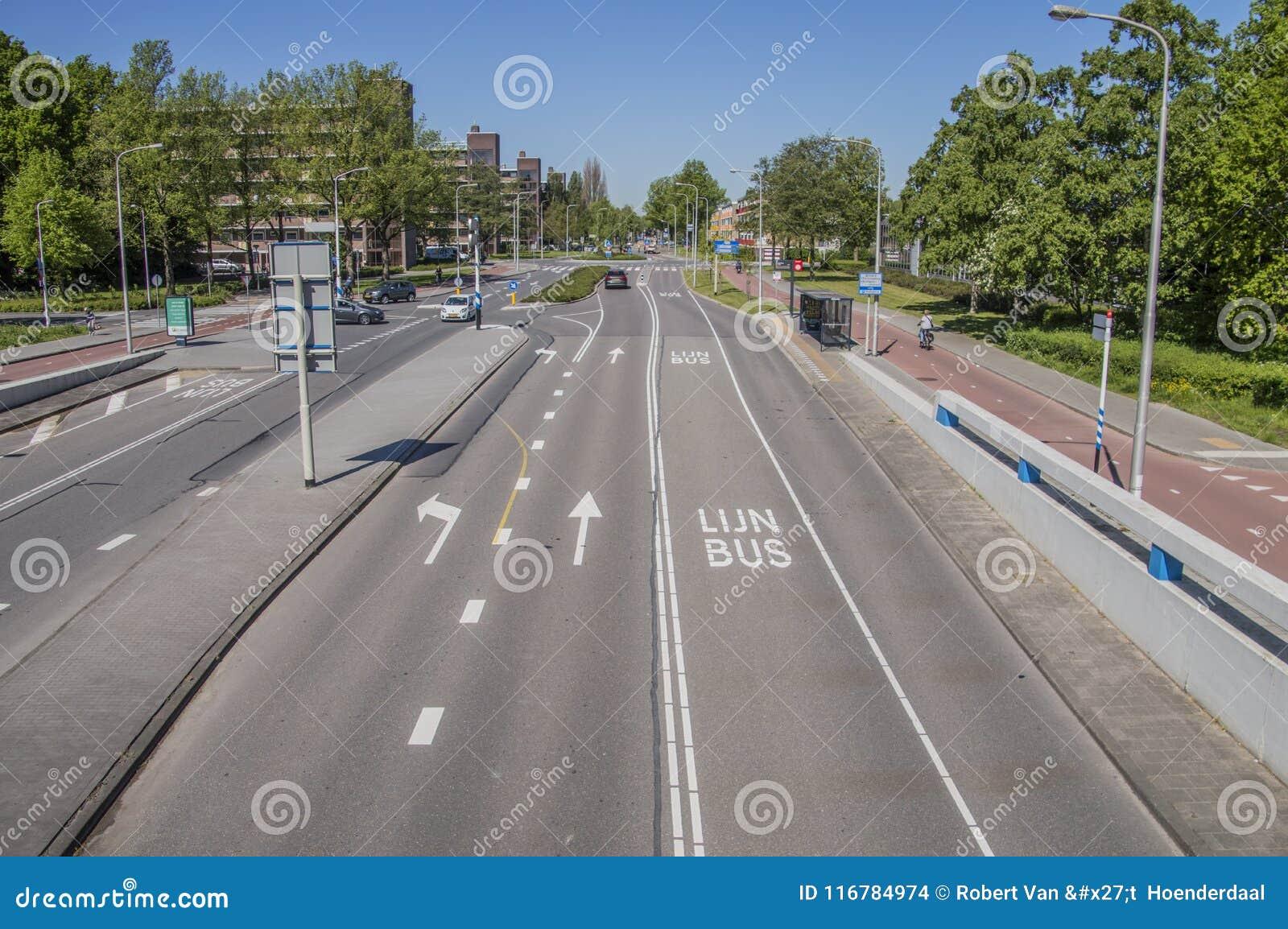 Meester G Groen van Prinstererlaan Street in Amstelveen die Niederlande