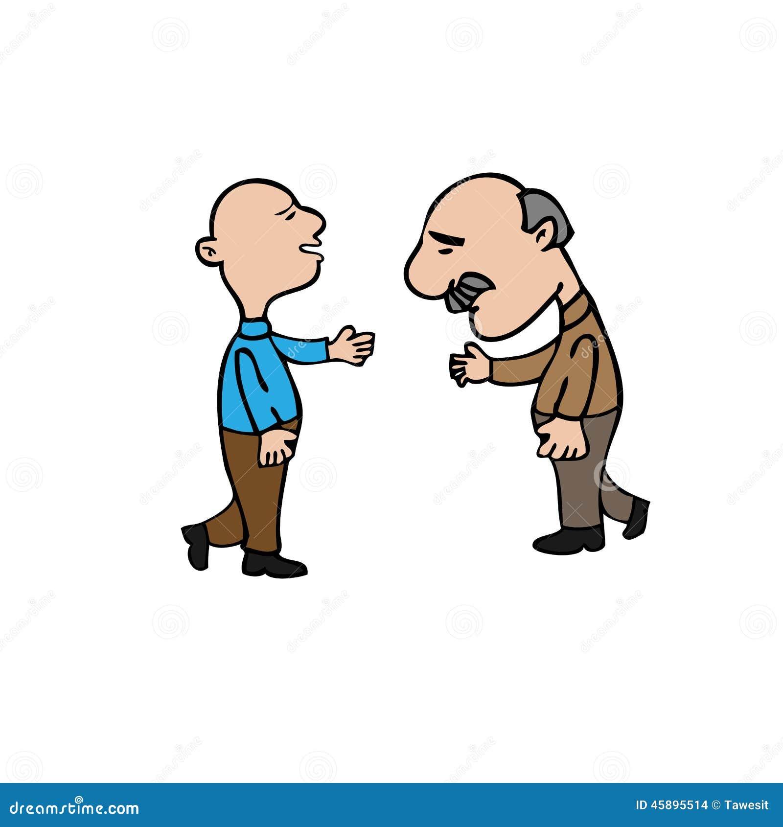 old friends meet political cartoon