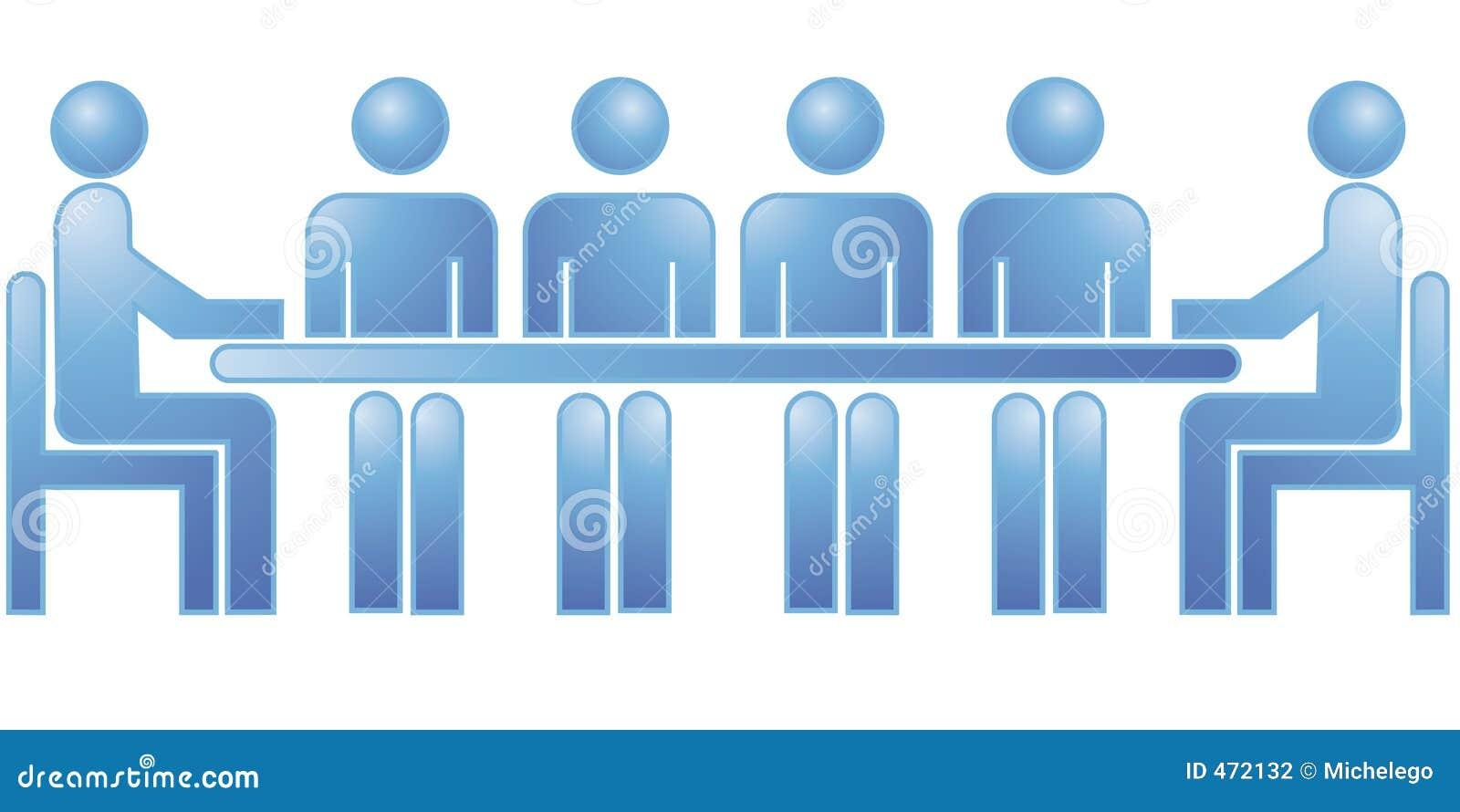 Download Meeting stock illustration. Illustration of meeting, staff - 472132