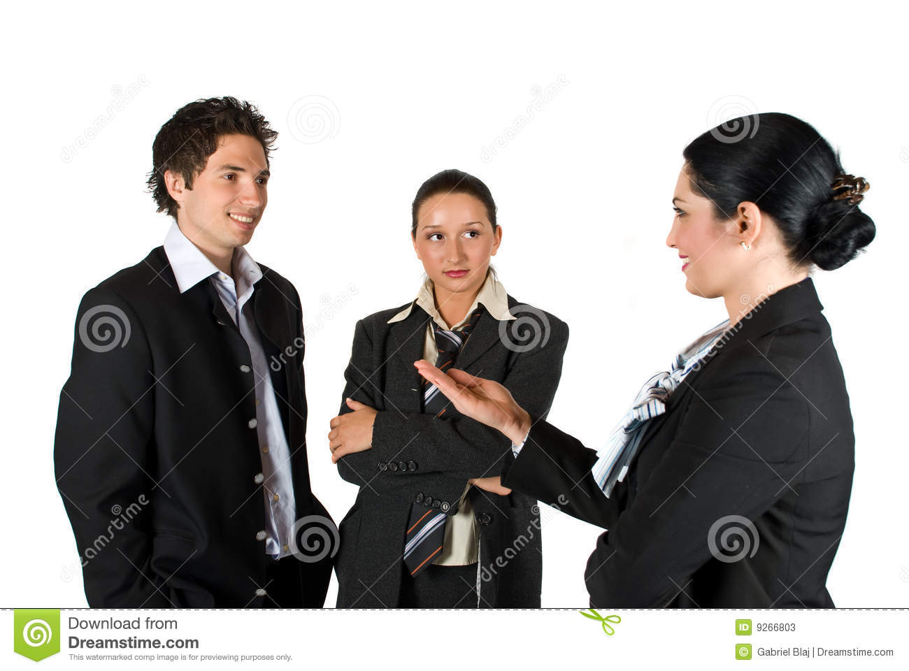 Download Meeting business people stock image. Image of businesspeople - 9266803