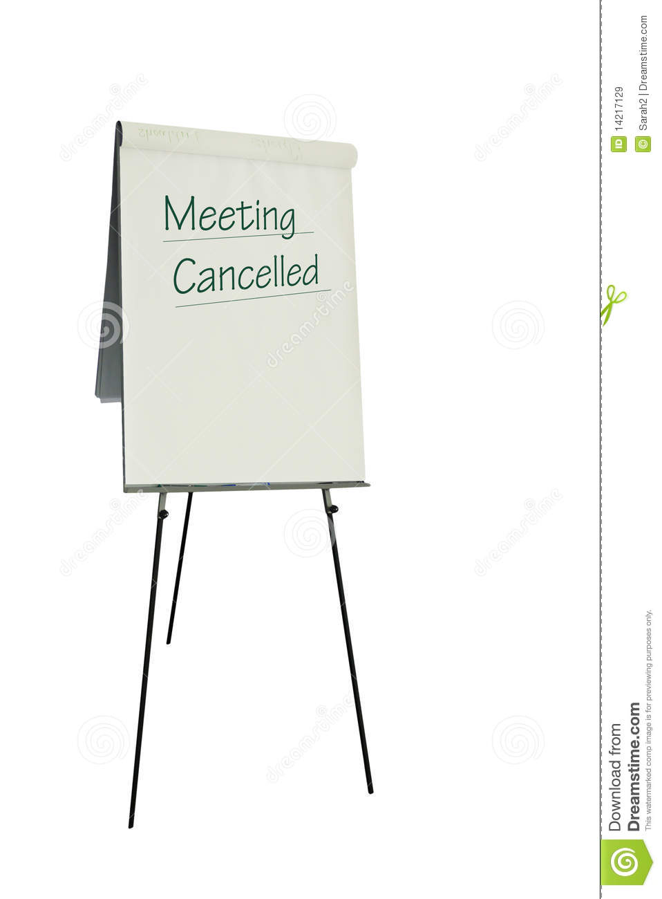 meeting cancelled royalty free stock images image 14217129