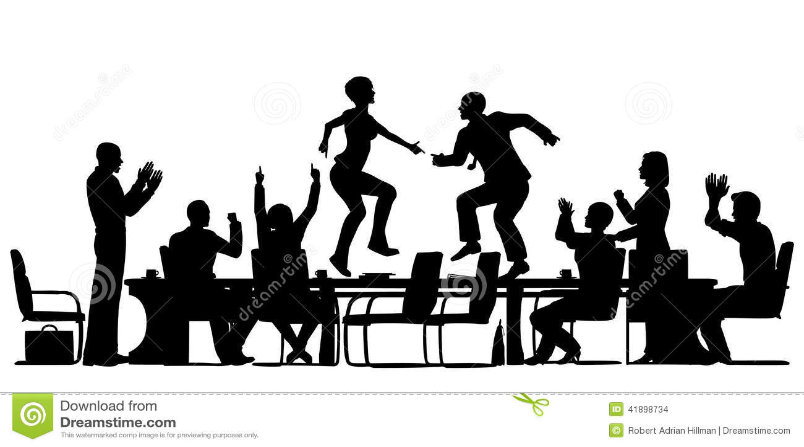 Meeting Celebration Stock Vector Image 41898734