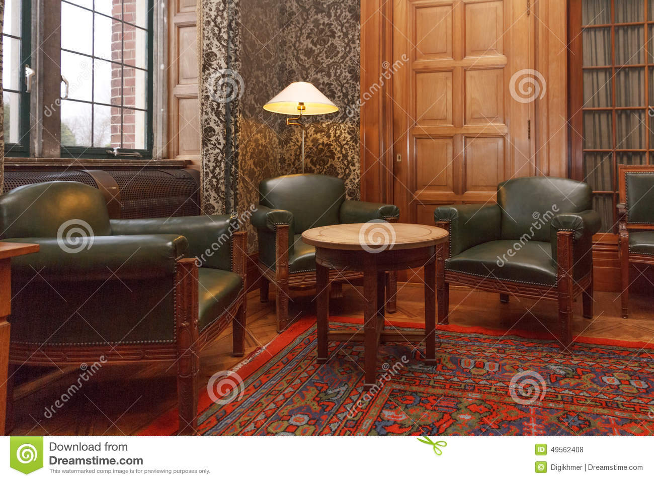 cosy vip meeting room stock photo - image: 49562408