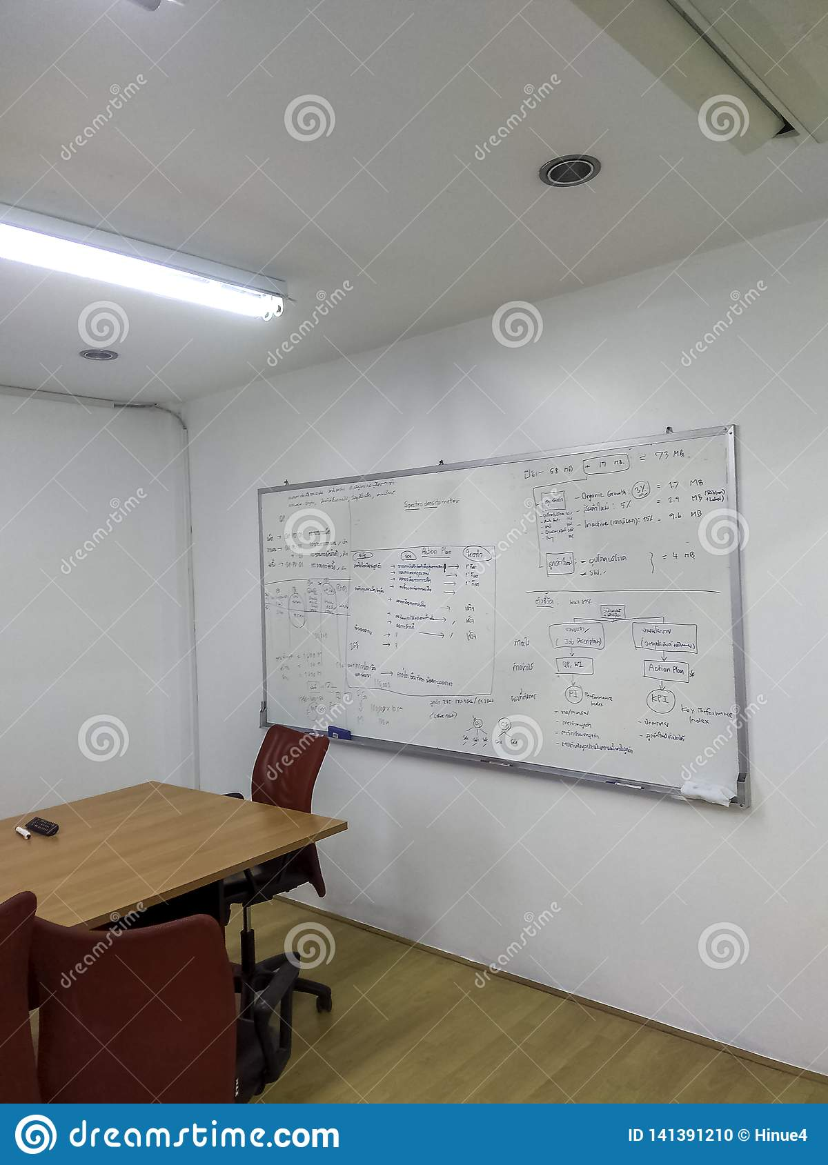 Meeting room for office workers
