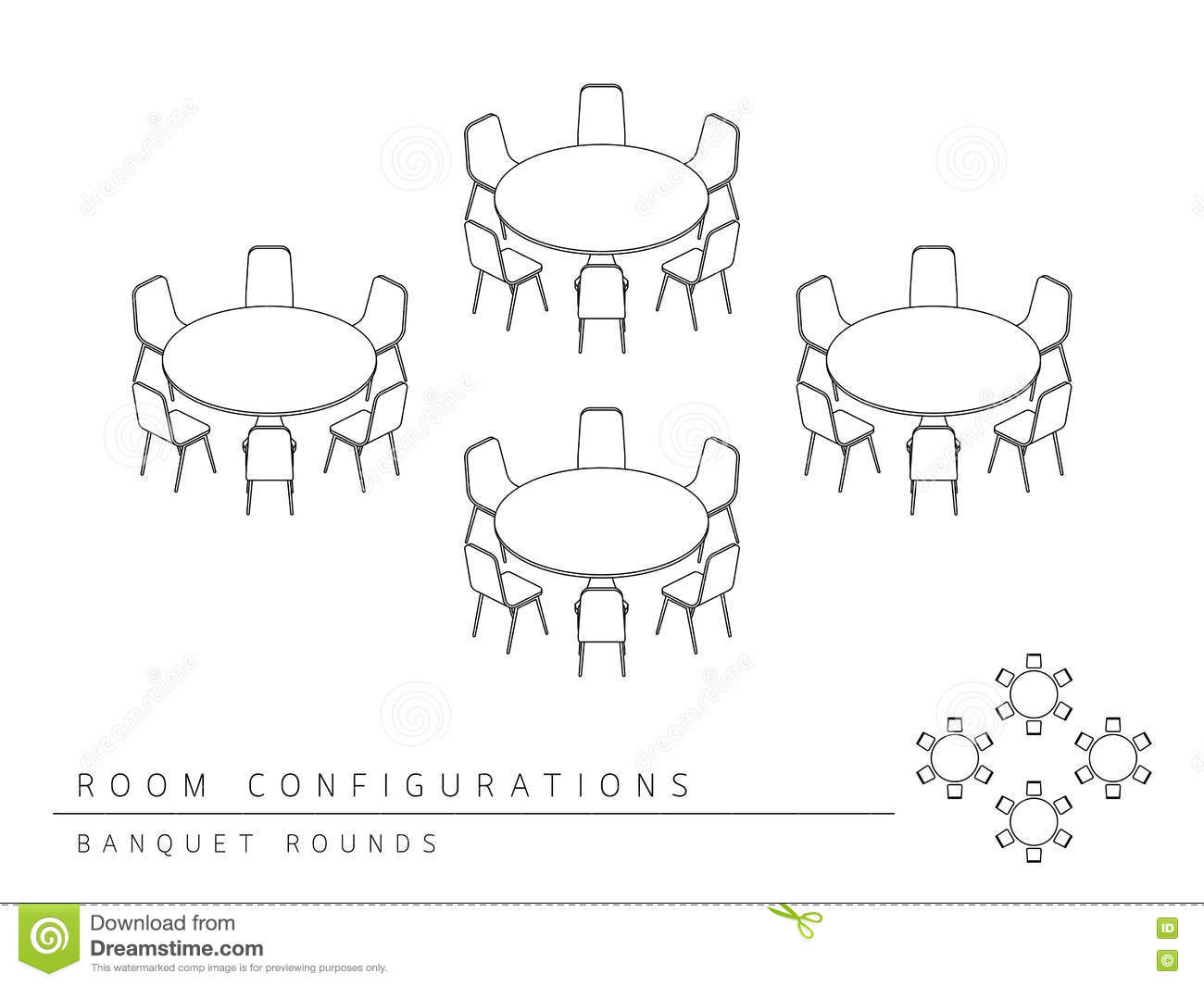 Party seating chart template 2