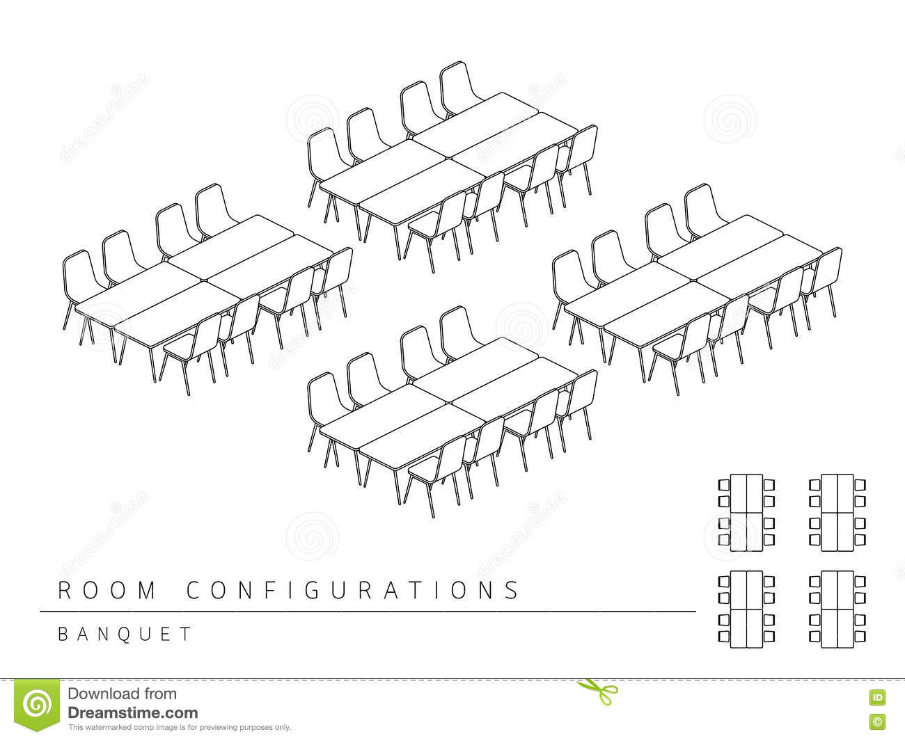Banquet Style Meeting Room Set Up Diagrams likewise 33284484716938150 as well Types Of Conference Room Setups erQXPvEatJ2 GSG78xZYSPRMG 7CeMcEoBEfEnfDVZd4c moreover Training Room Set Up Diagrams as well Stock Illustration Meeting Room Setup Layout Configuration Banquet Style Perspective D Top View Illustration Outline Black White Color Image71485542. on banquet style meeting room set up diagrams