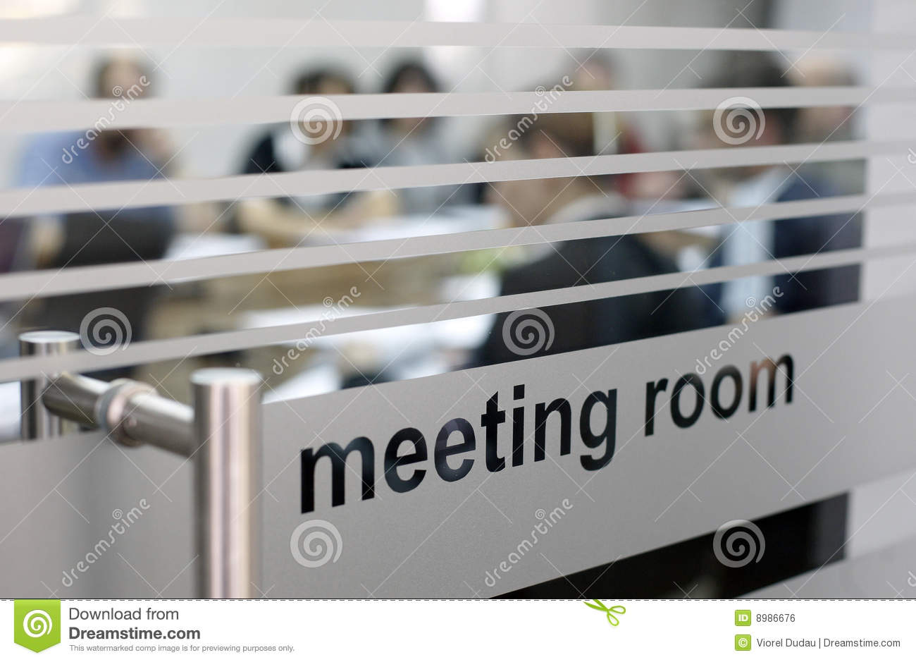 Meeting Room In Use Stock Photo Image Of Executive
