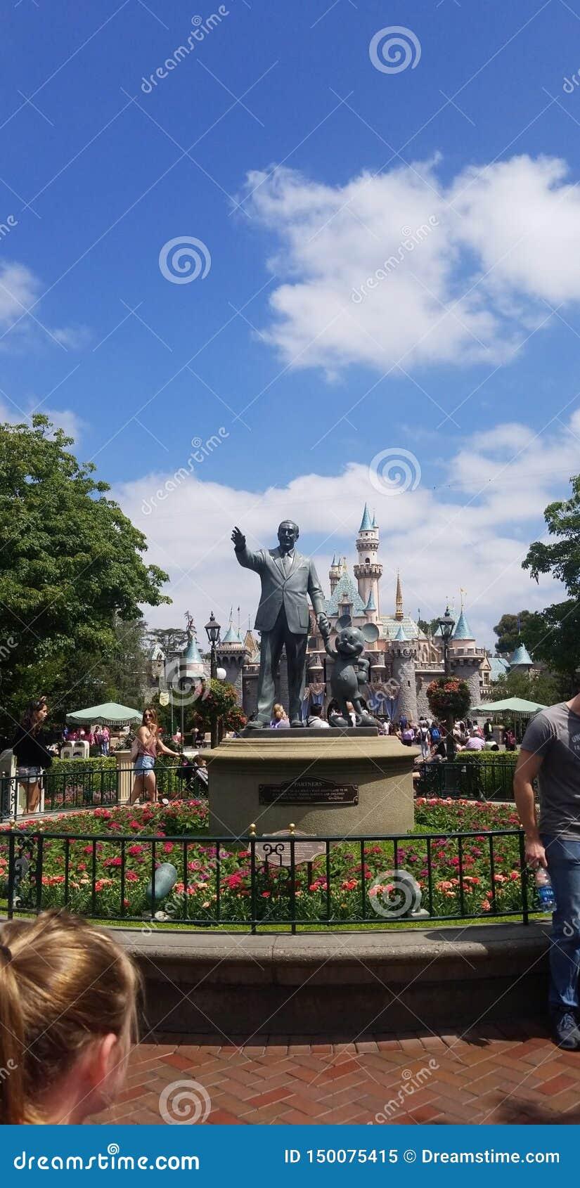 Meeting Walt Disney