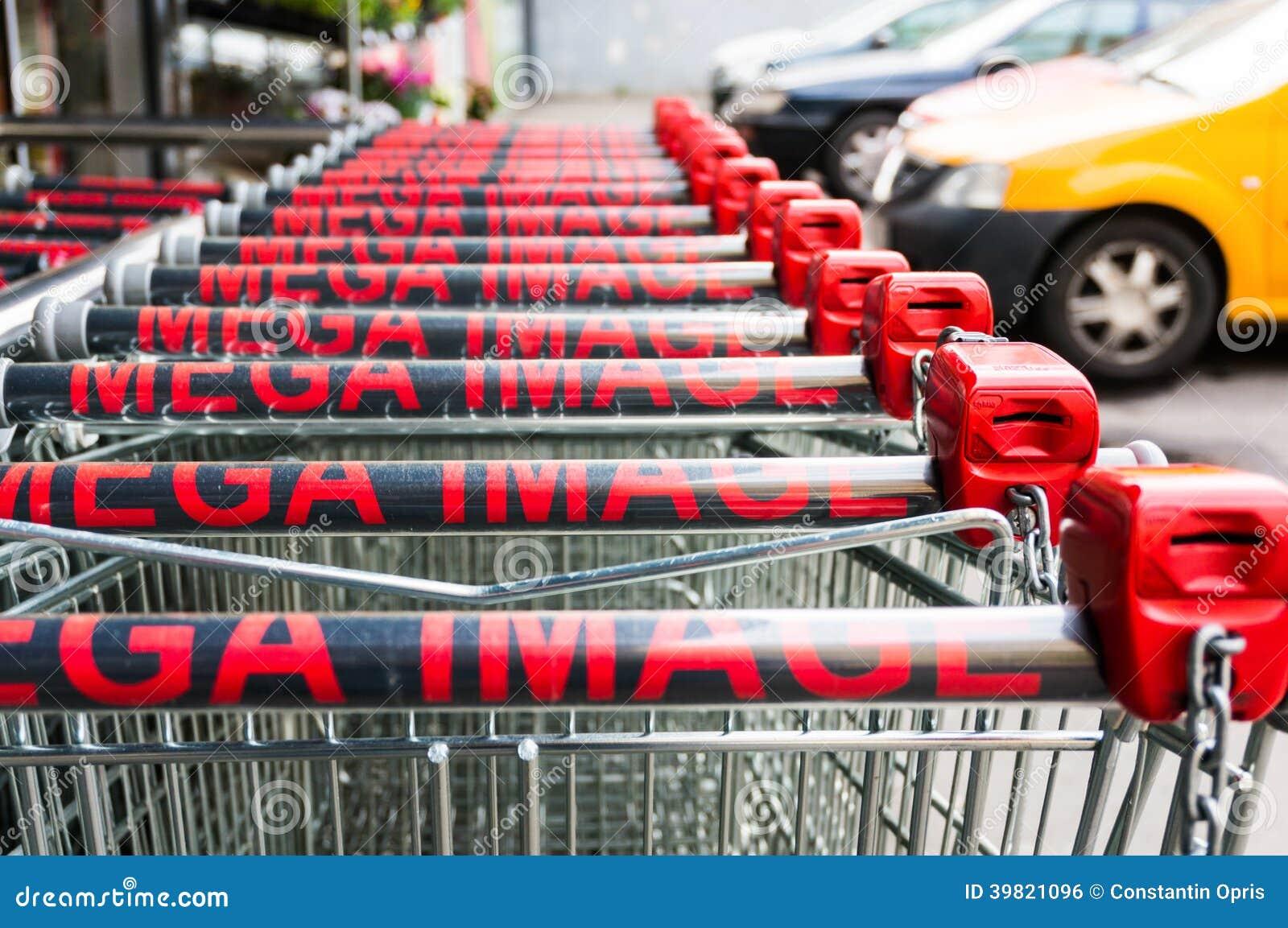 Download Mega image shopping carts editorial photo. Image of shop - 39821096