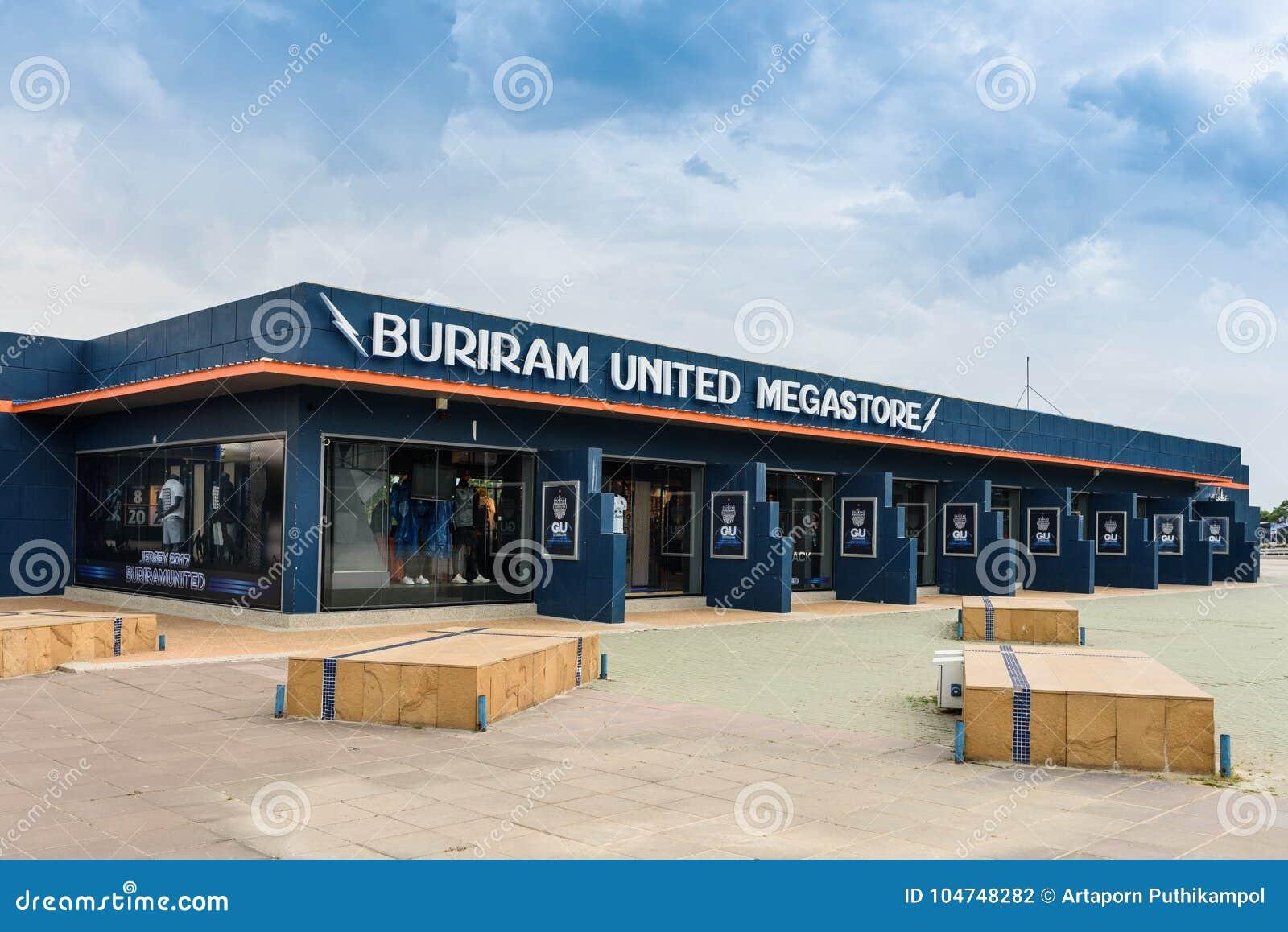 The Mega Store Of Thailand`s Buriram United Football Club Editorial ... 746923ac20fd