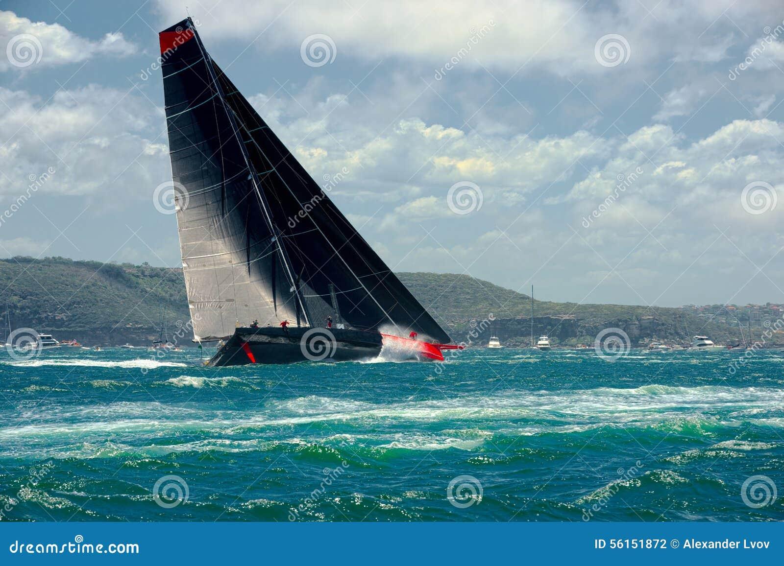 Mega varend jacht sailing Luxejacht