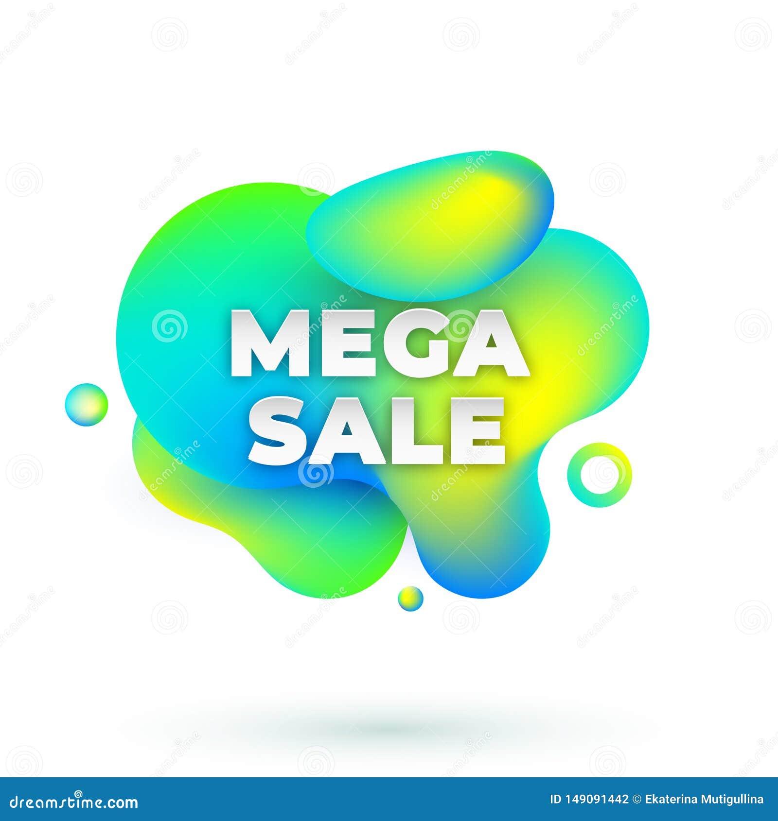 Mega- Verkaufsamöbe