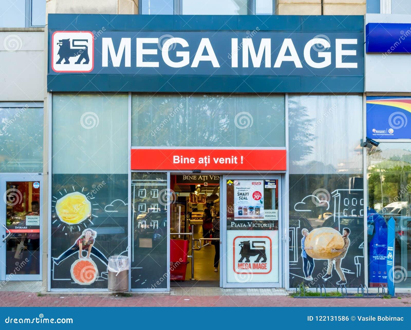 Mega wizerunku supermarket