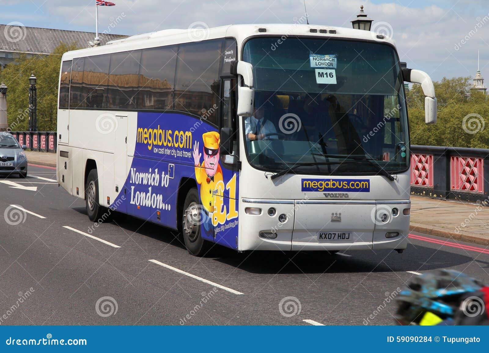 Megabus en Londres