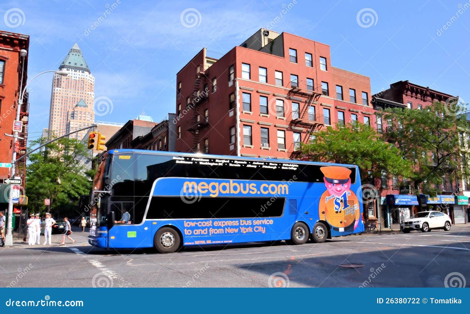 Megabus en New York City