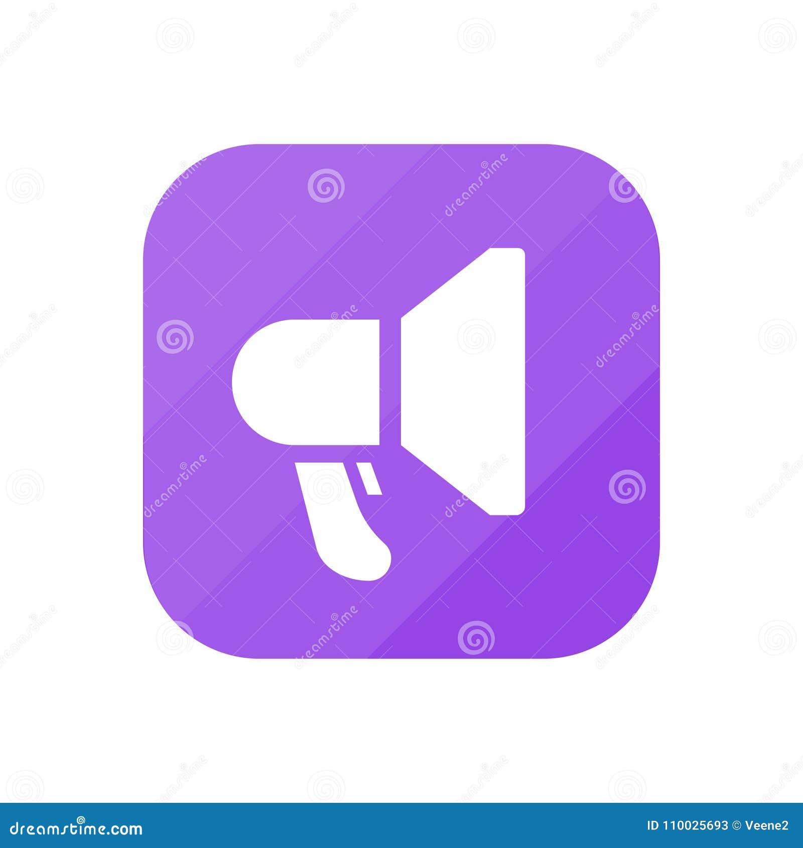 Megafoon - App Pictogram