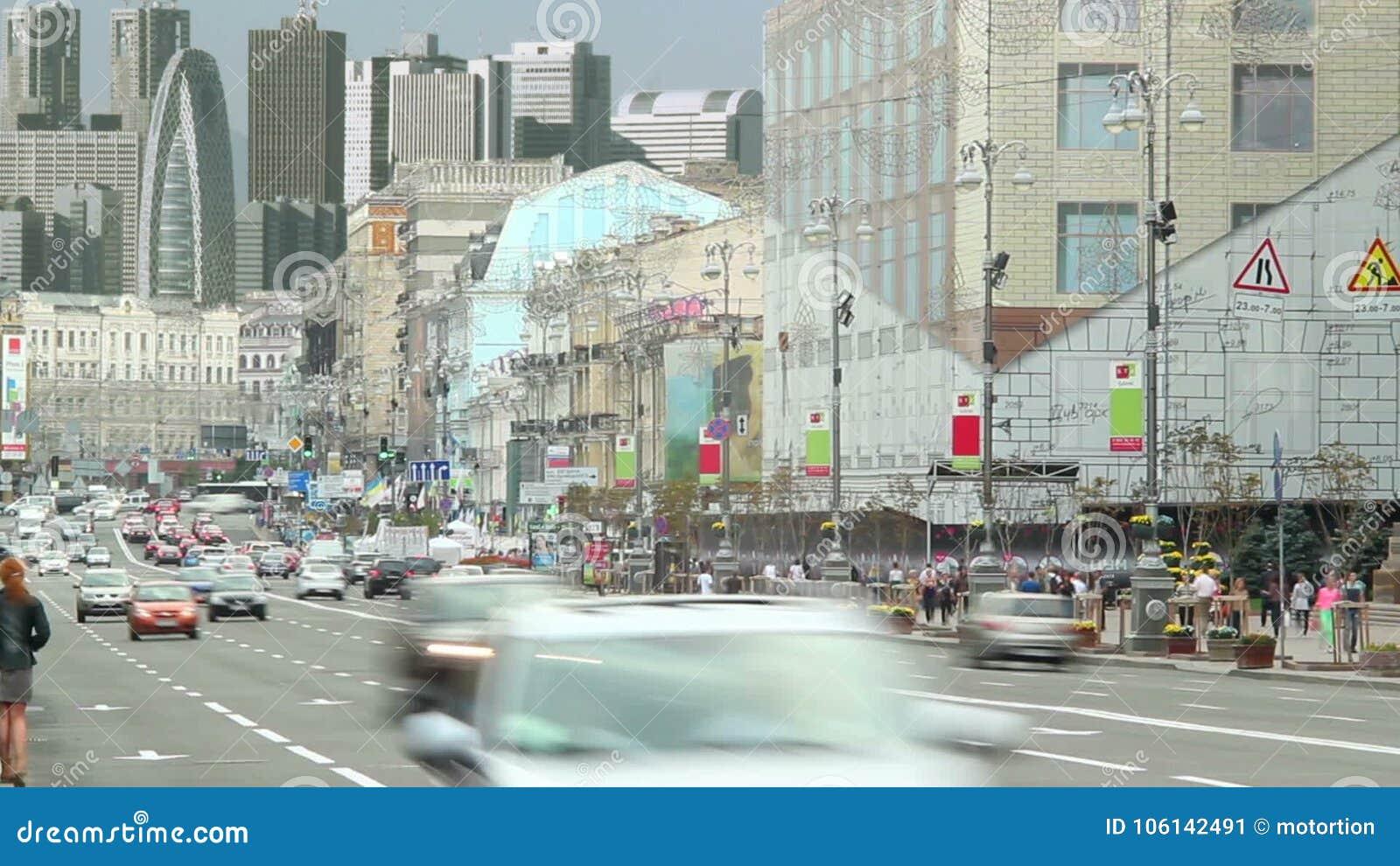 Drive Time Cars >> Megalopolis City Traffic Cars Drive Time Lapse Urban Skyline