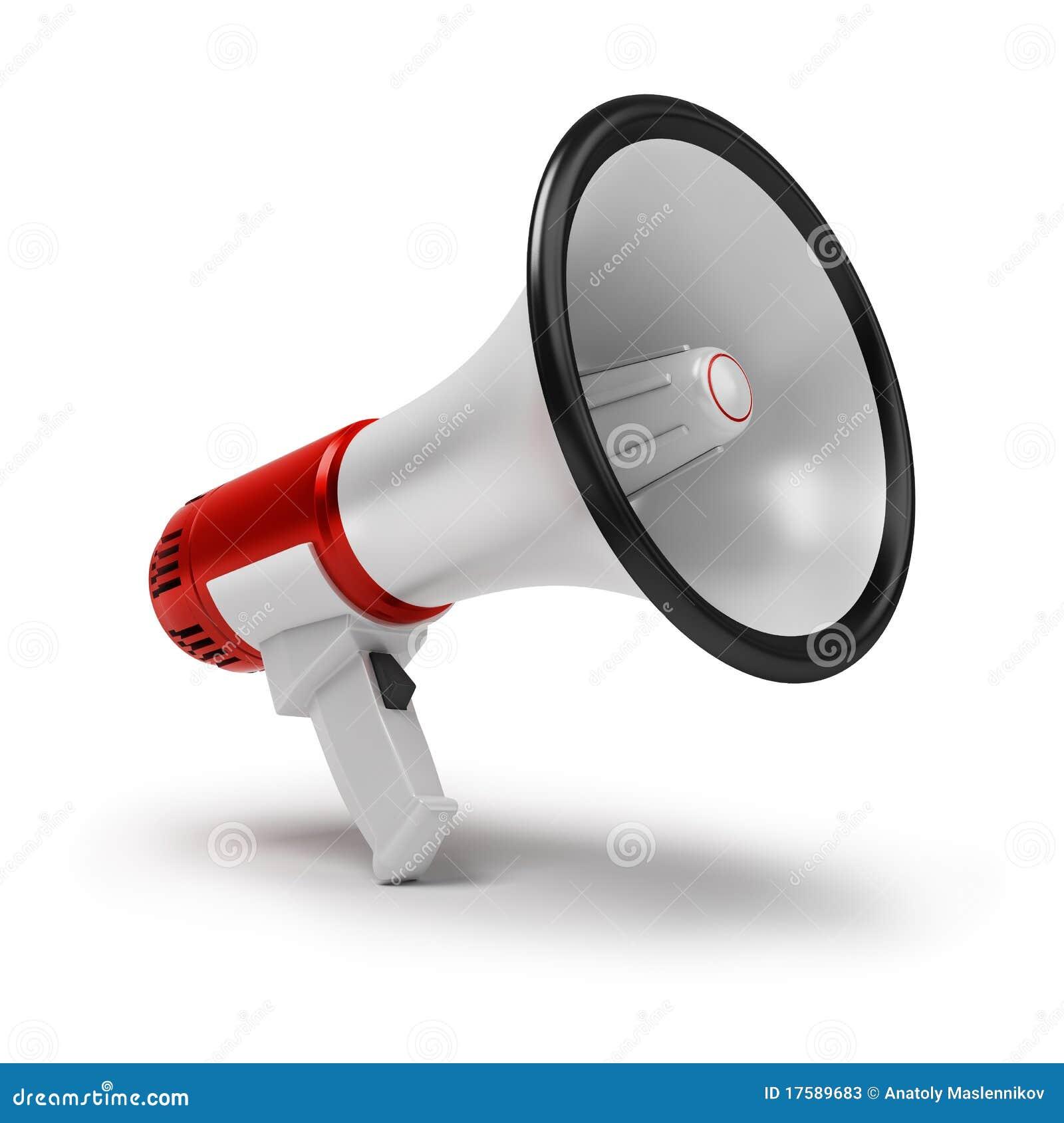 megaphone stock photos