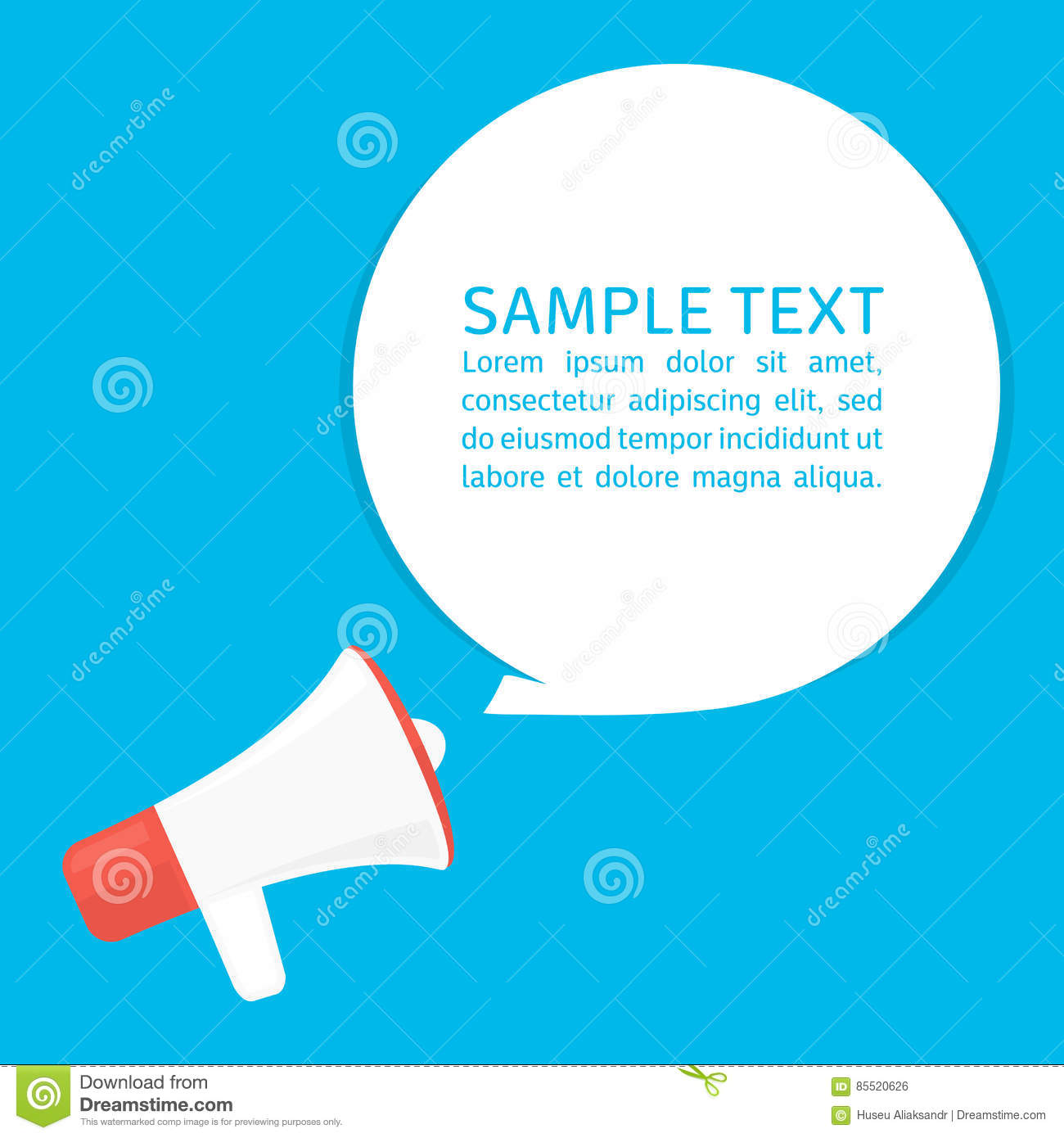 marketing speech sample