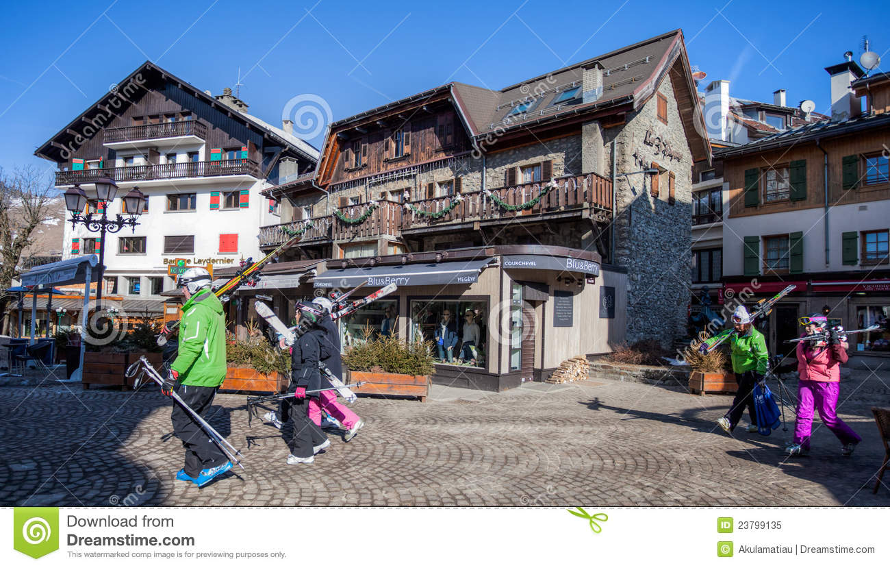 Megeve France  City new picture : in Megeve, France. Megeve is a very popular ski resort town in France ...