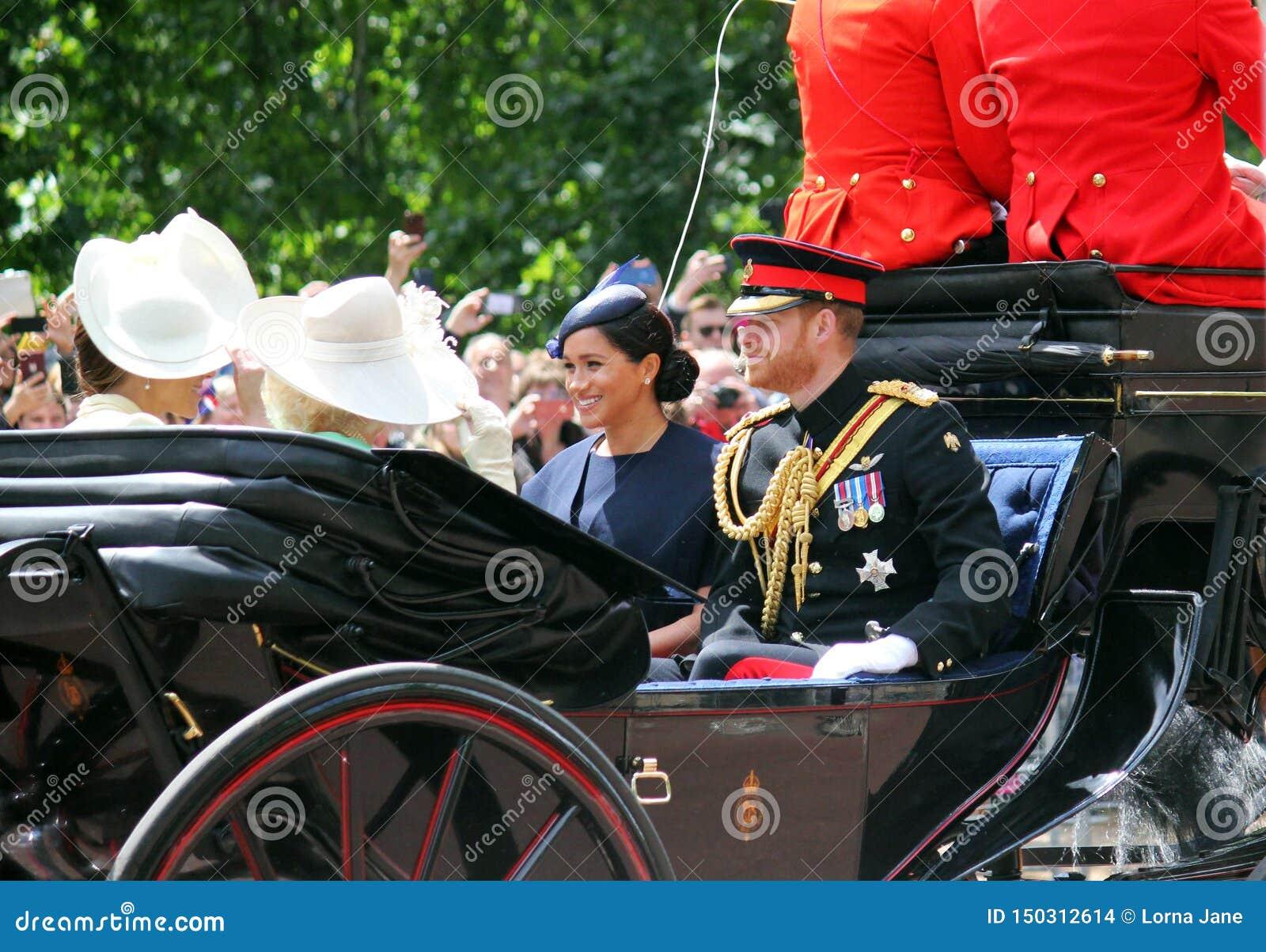 Meghan Markle, Londres R-U le 8 juin 2019 - Meghan Markle Prince Harry Kate Middleton