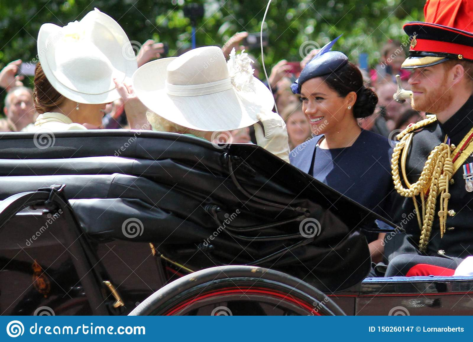 Meghan Markle, Londyński uk 8 2019 Czerwiec - Meghan Markle książe Harry George William Charles Kate Middleton