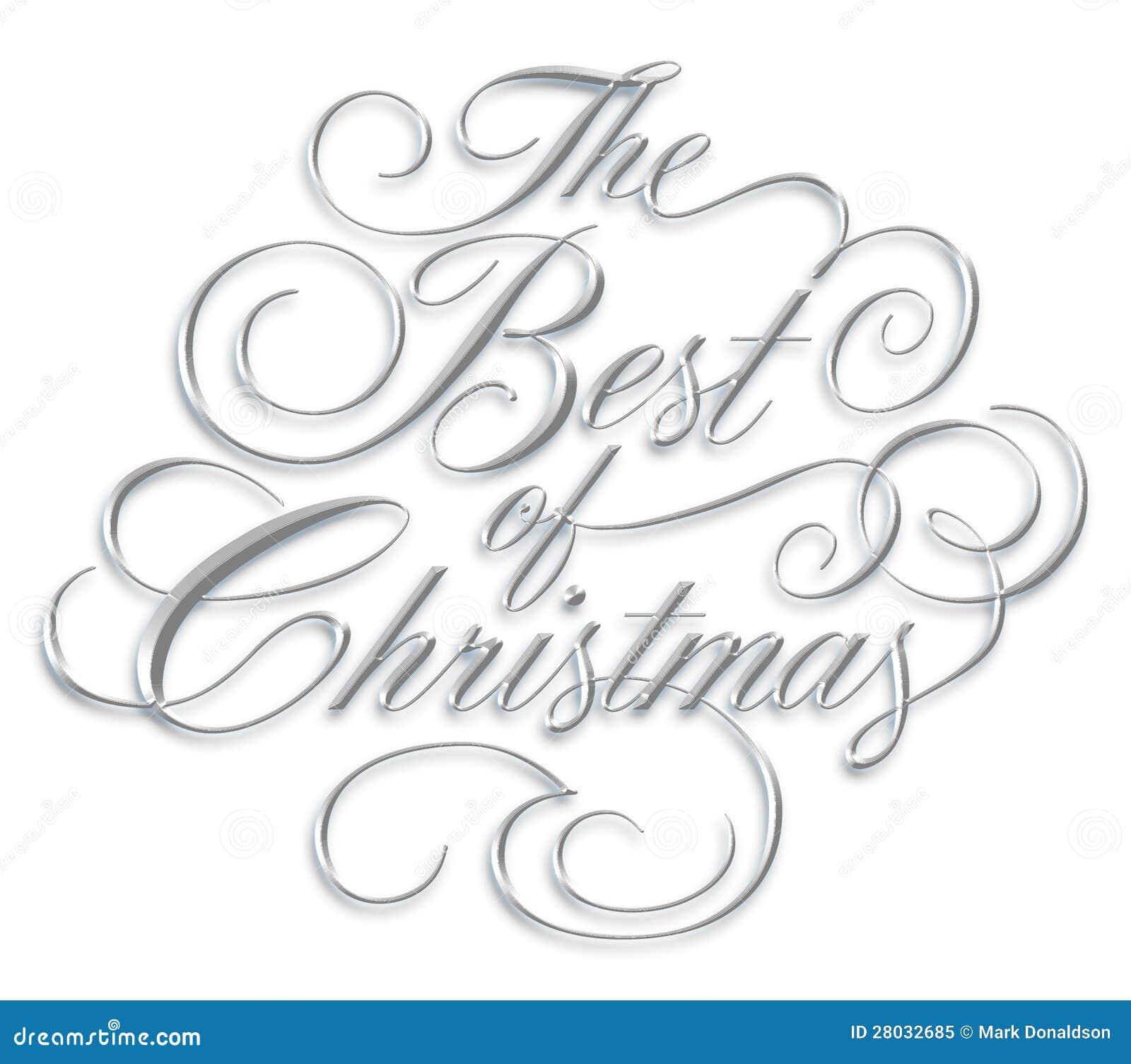 Meglio dello scritto di Natale