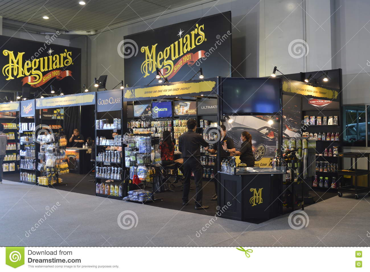 Meguiars Car Care Products Shop Of FAST Auto Show Thailand - Show car products