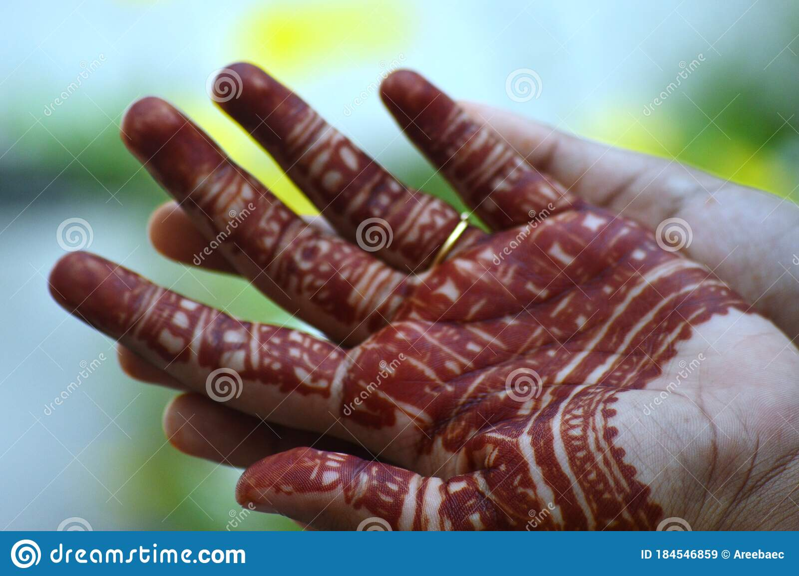 Mehandhi Application Is An Ancient Traditional Art Of India It Is A Body Art It Last For About Two Weeks Stock Image Image Of Traditional Ancient 184546859