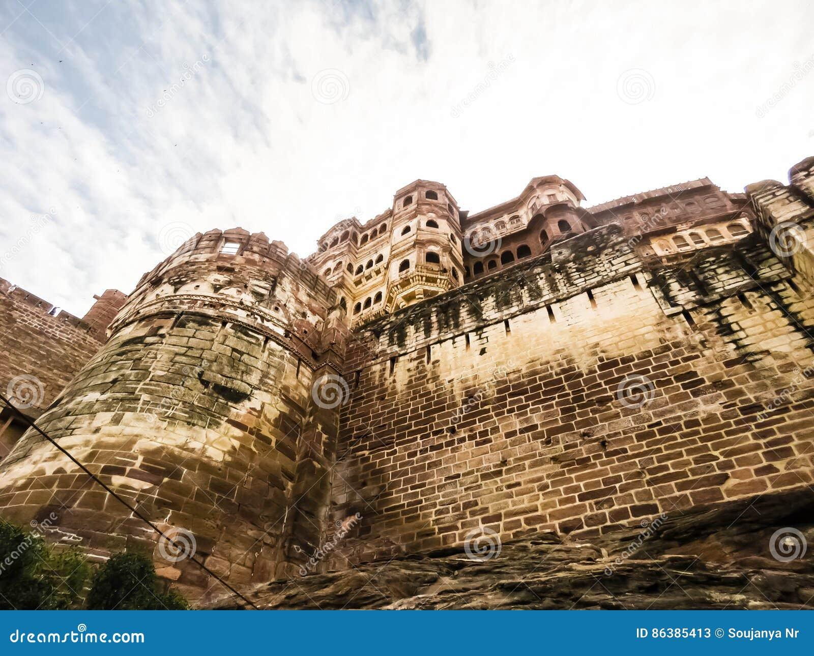 Mehrangarh堡垒,乔德普尔城,拉贾斯坦,印度