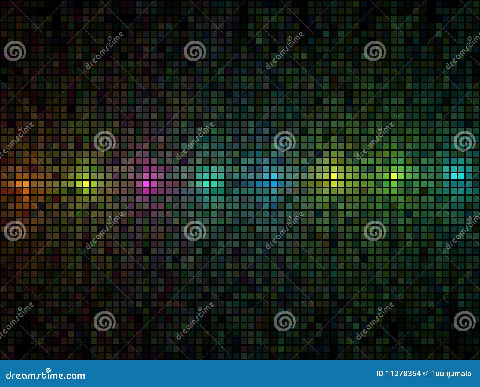 Mehrfarbenleuchtefliesehintergrund