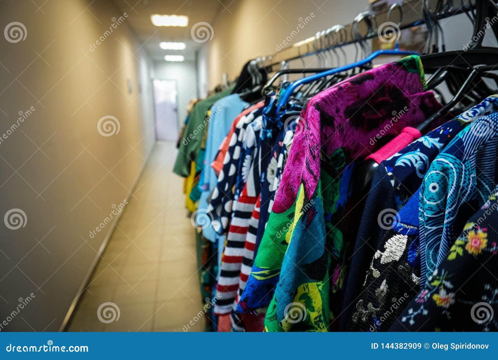 Mehrfarbige Kleidung