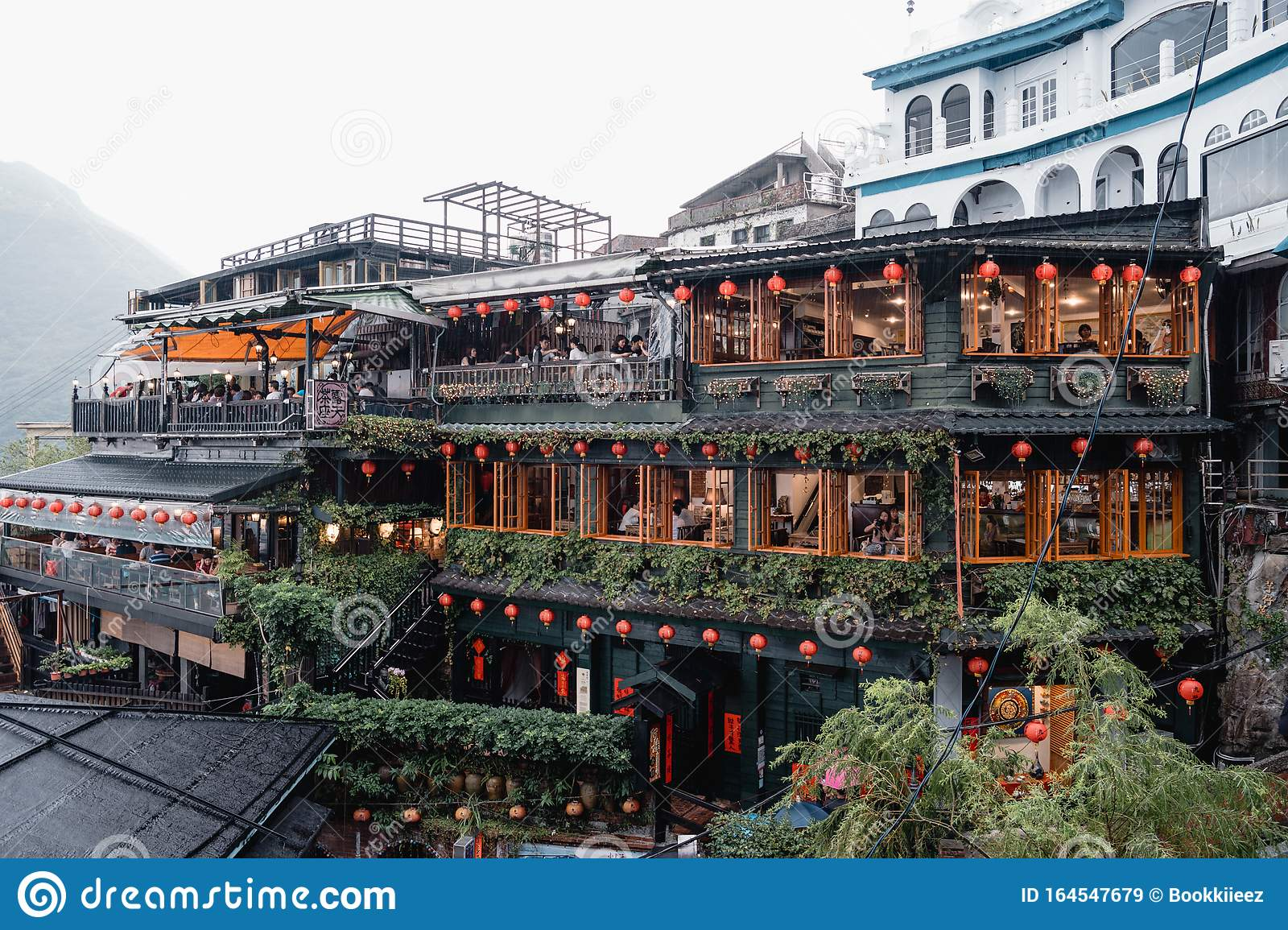 A-Mei` Tea House, The Inspiration Of Spirited Away In Jiufen Old