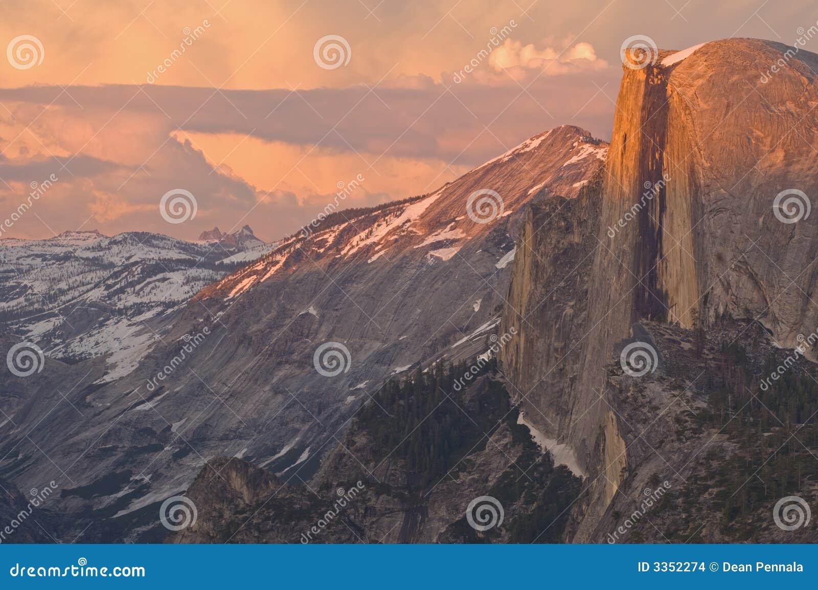 Meia abóbada Yosemite