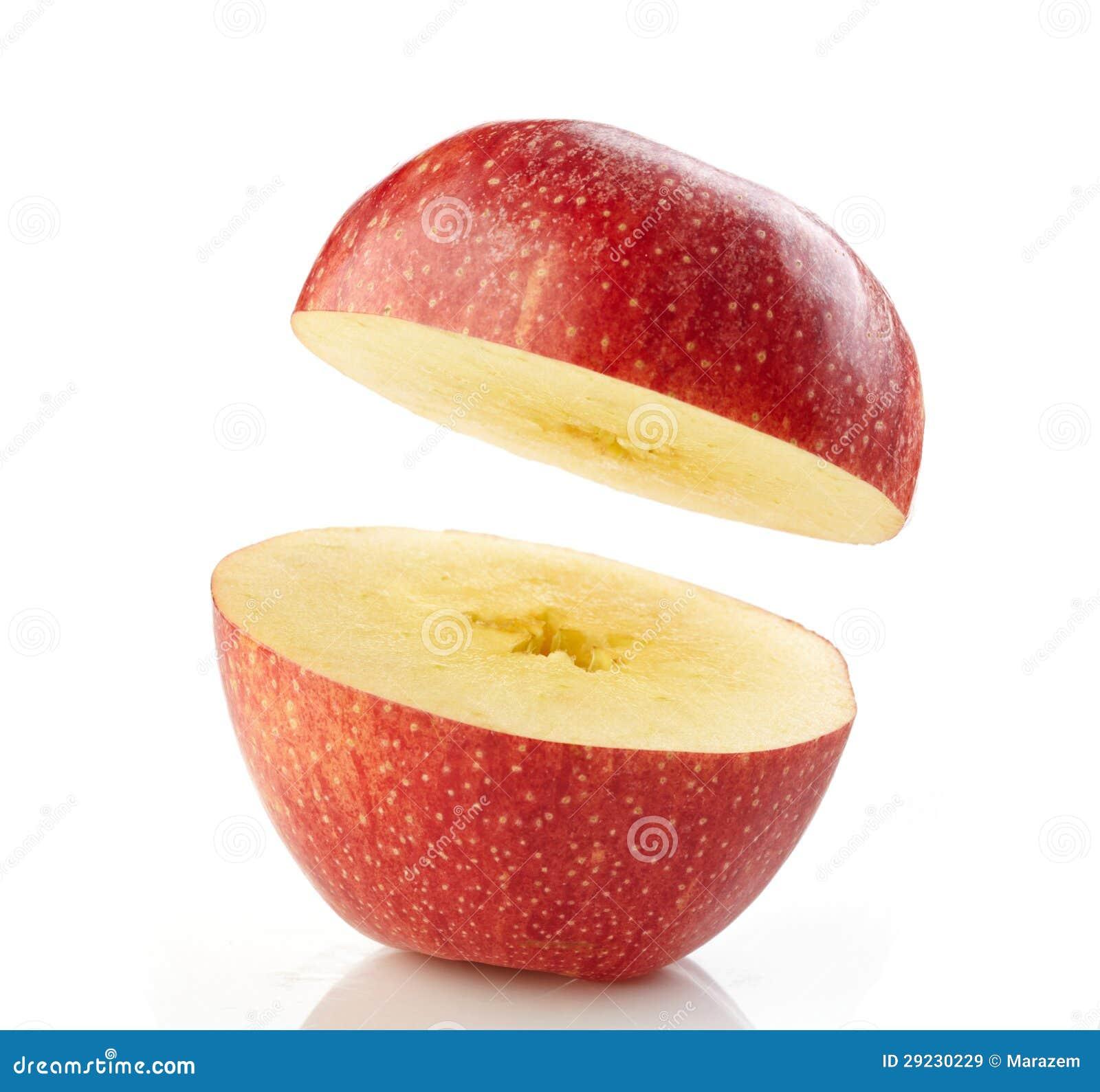 Download Meia maçã imagem de stock. Imagem de dieting, frescor - 29230229