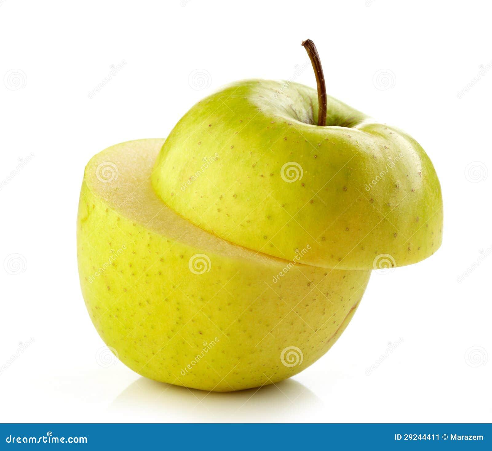 Download Meia maçã imagem de stock. Imagem de ingrediente, saúde - 29244411