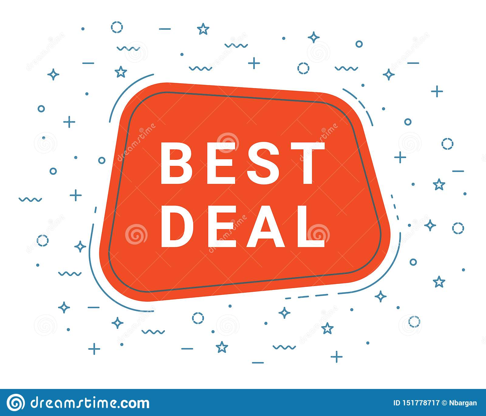 Meilleure bulle rouge de la parole d affaire haut-parleur Illustrations pour le marketing de promotion pour des copies et des aff